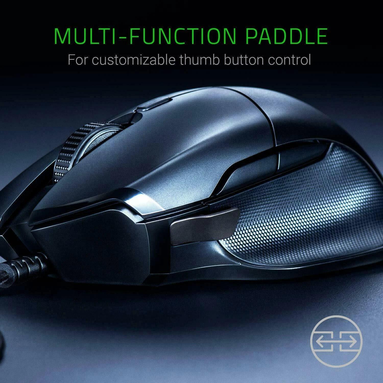 Razer Basilisk Wired Mouse Optical Sensor DPI 8 Buttons Black - 7