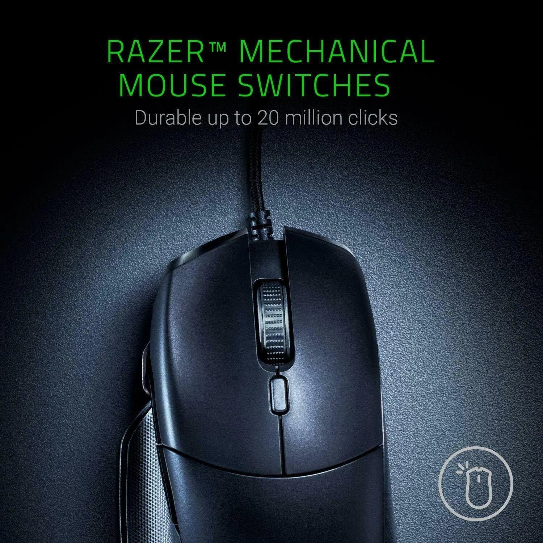 Razer Basilisk Wired Mouse Optical Sensor DPI 8 Buttons Black - 10