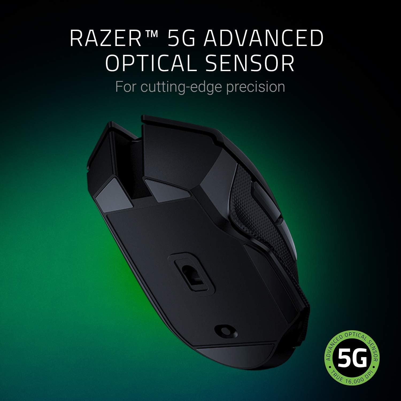 Razer Basilisk X Hyperspeed Wireless Gaming Mouse 16000DPI optical sensor Black - 3