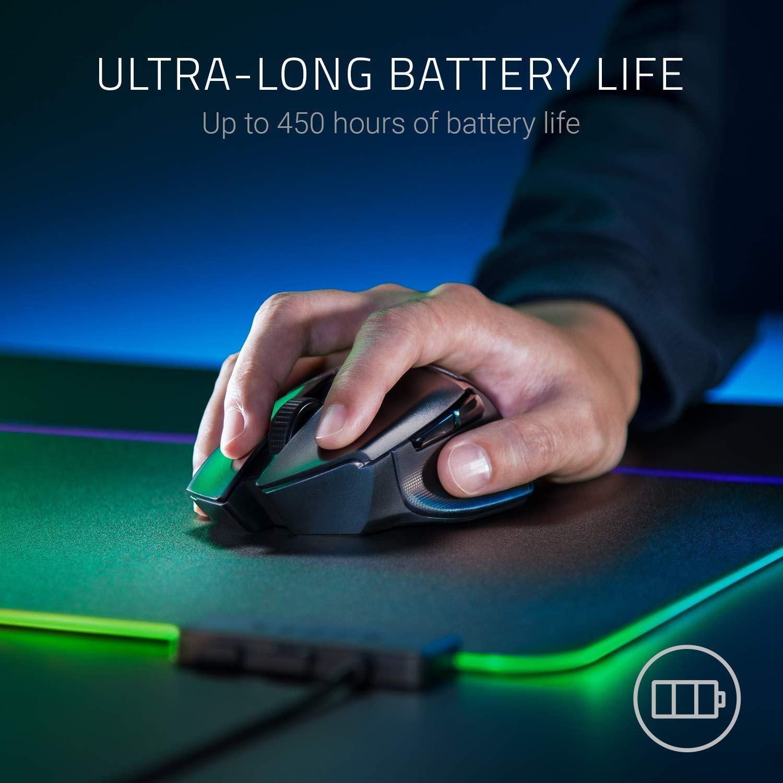 Razer Basilisk X Hyperspeed Wireless Gaming Mouse 16000DPI optical sensor Black - 6