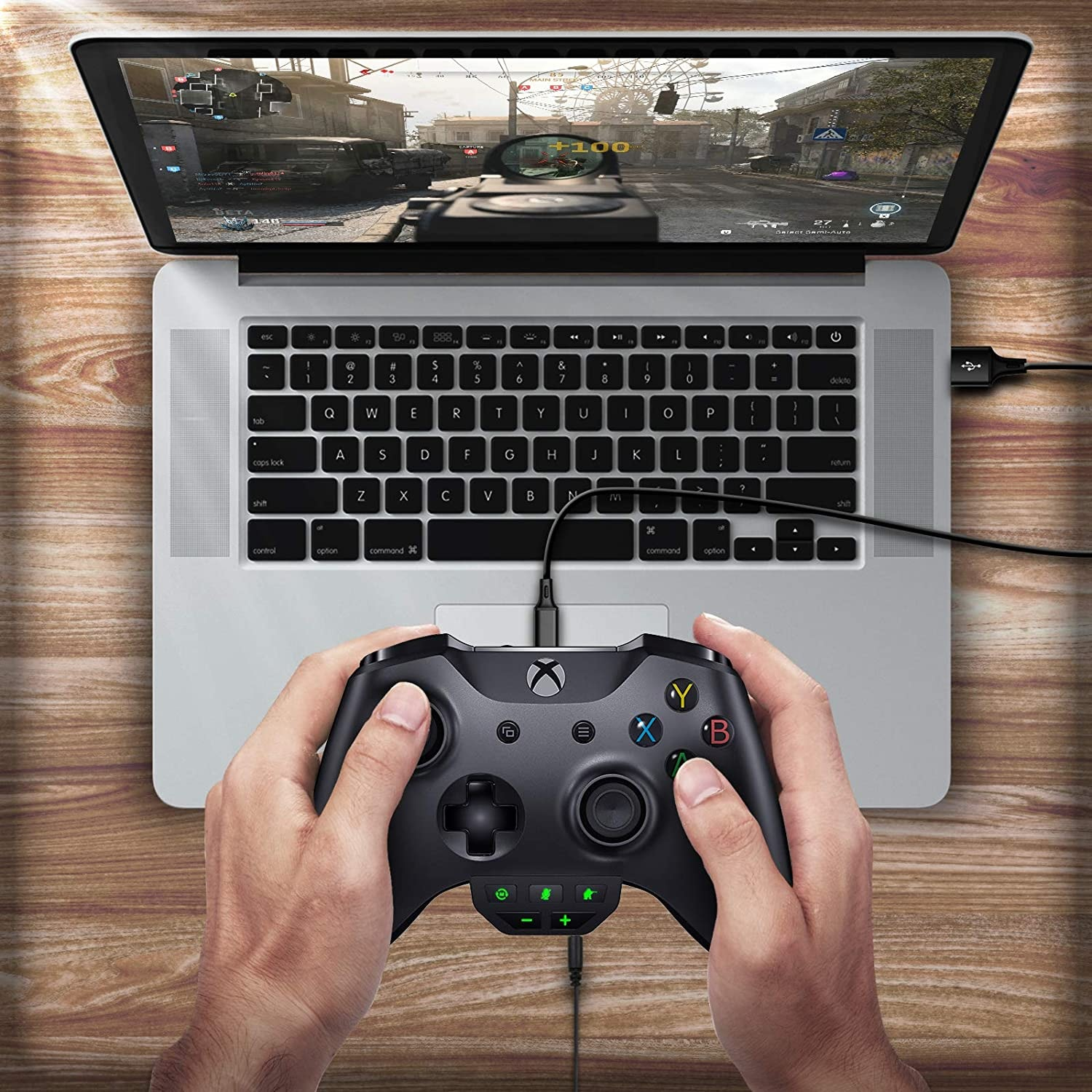 Sound Enhancer For Xbox Series X S One S Wireless Controller Stereo Headset Adapter Joystick Audio Headphone Converter Gaming - 6