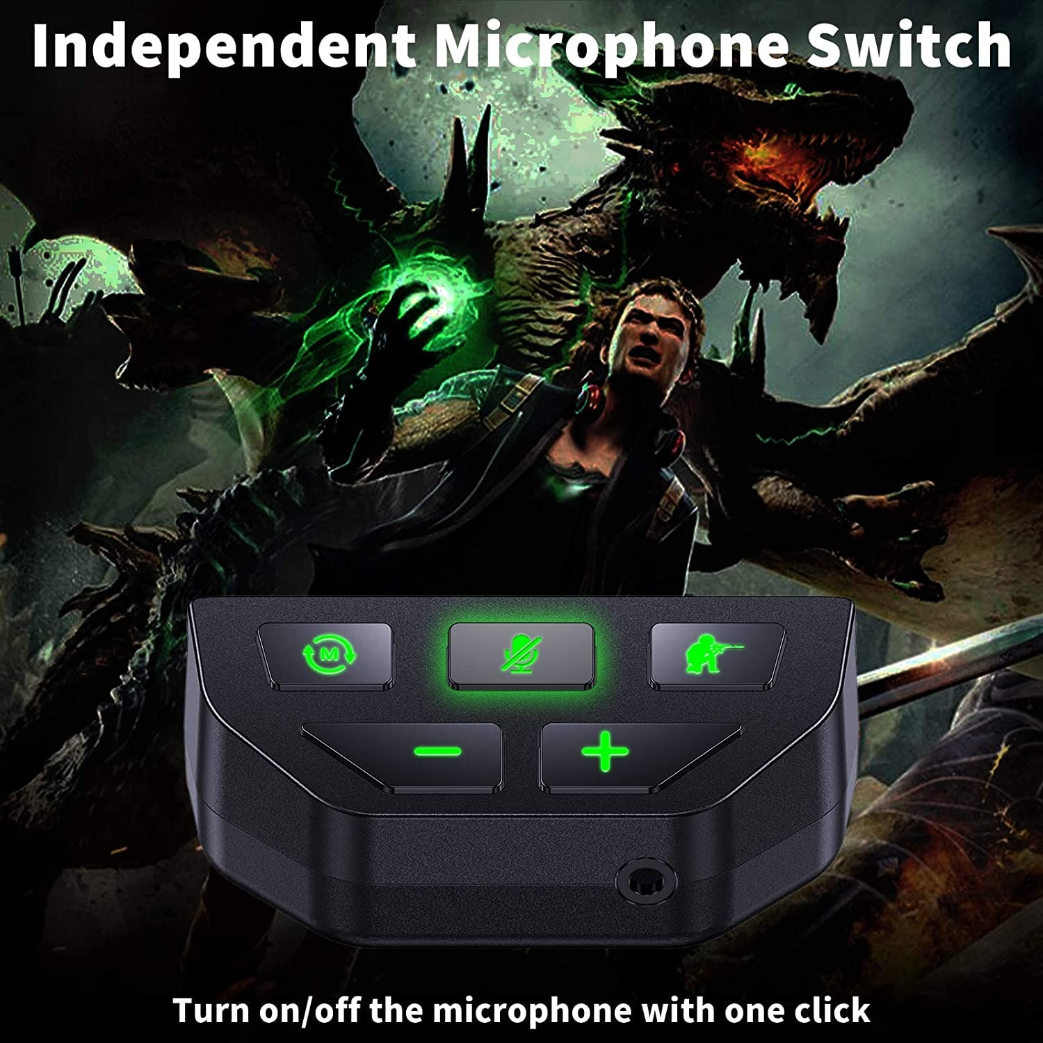 Sound Enhancer For Xbox Series X S One S Wireless Controller Stereo Headset Adapter Joystick Audio Headphone Converter Gaming - 5