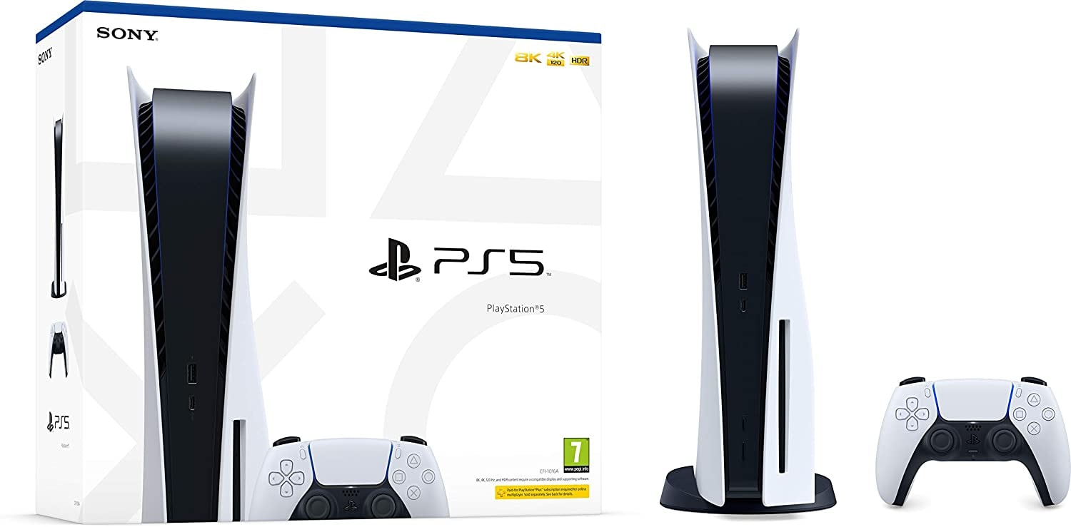 PlayStation 5 Console Brand new Sealed Disc Version White Standard - 2
