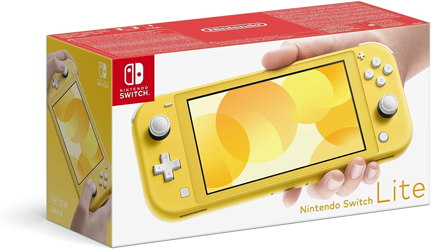Nintendo Switch Lite 32GB System Handheld Video Game Console Device Tablet AC TESTED WORKING Light Yellow - 1