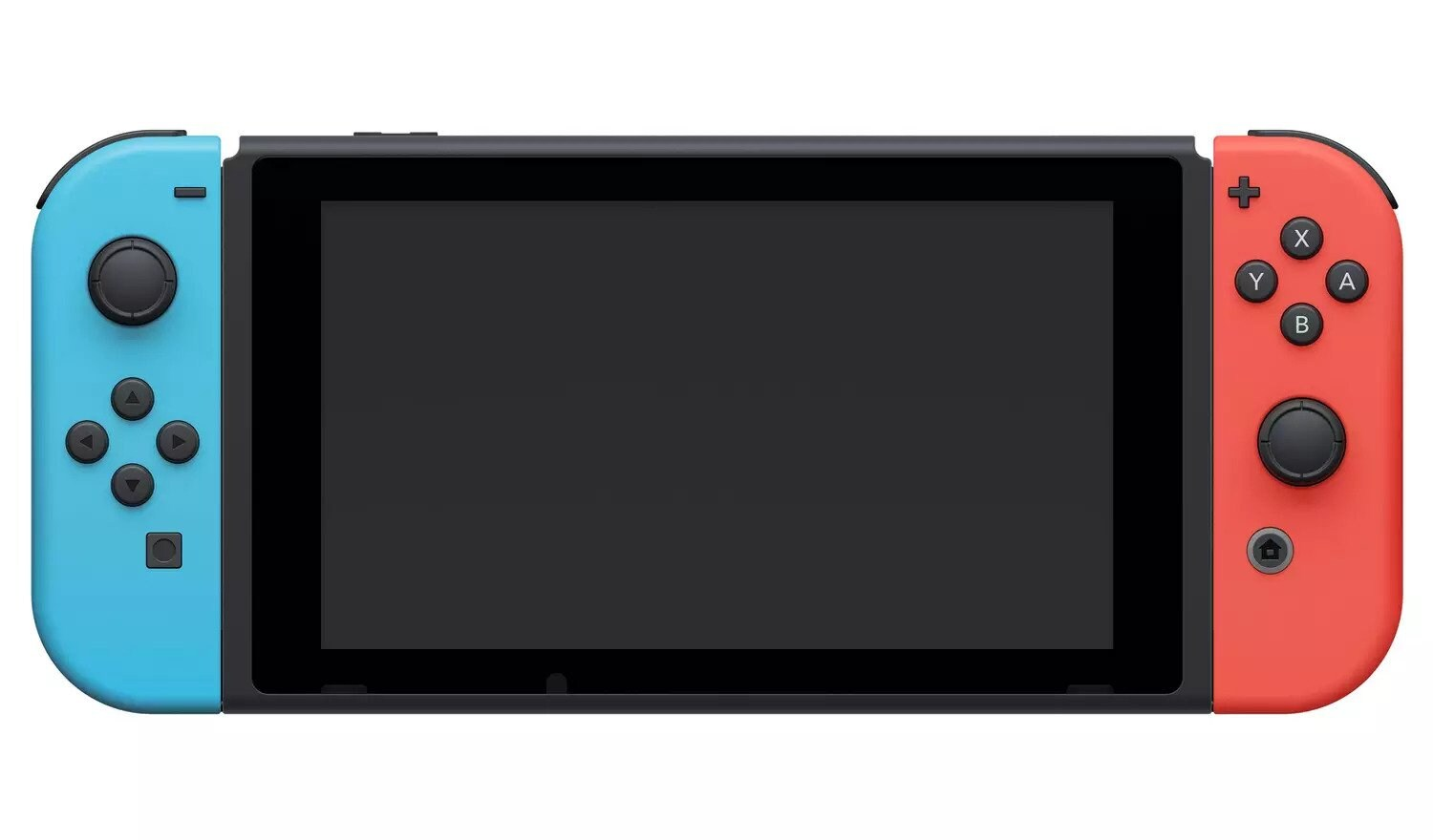 Neon Nintendo switch with improved battery 32GB Multi-Colored 32 GB Standard - 3