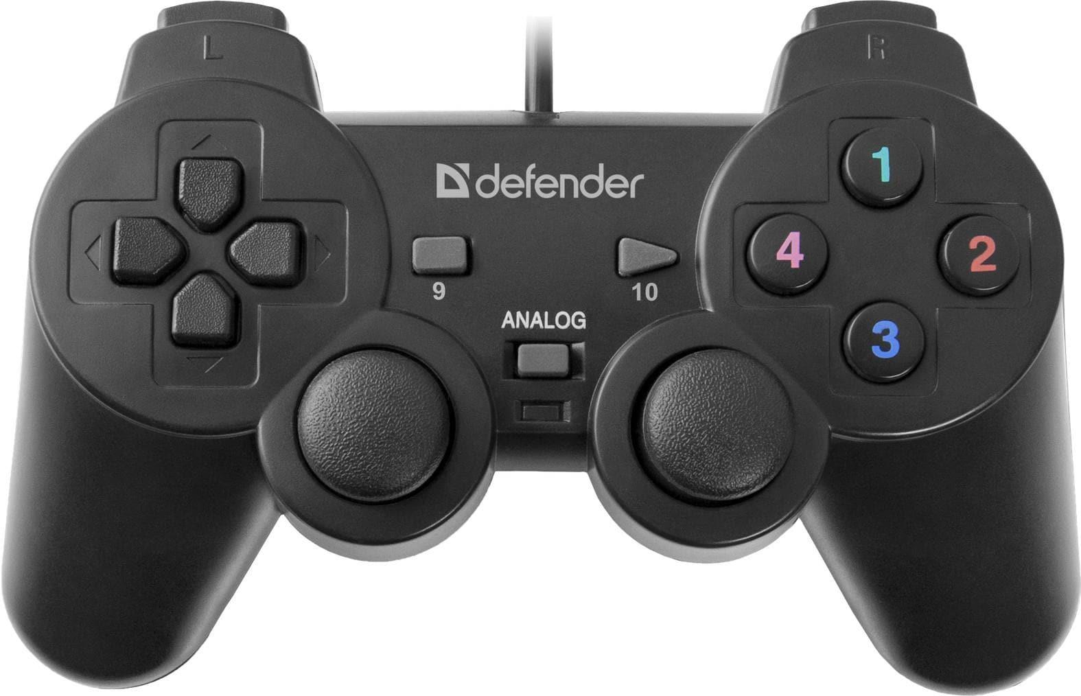 Gamepad Przewodowy Defender Omega, Efekt Wibracji, Usb - 1