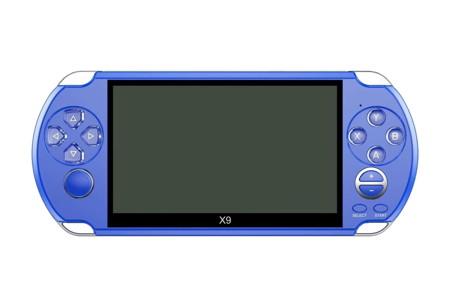 X9 5'' Handheld Video Game Console Retro Player Portable 32/64 Bit Games+ Cable PC White - 8