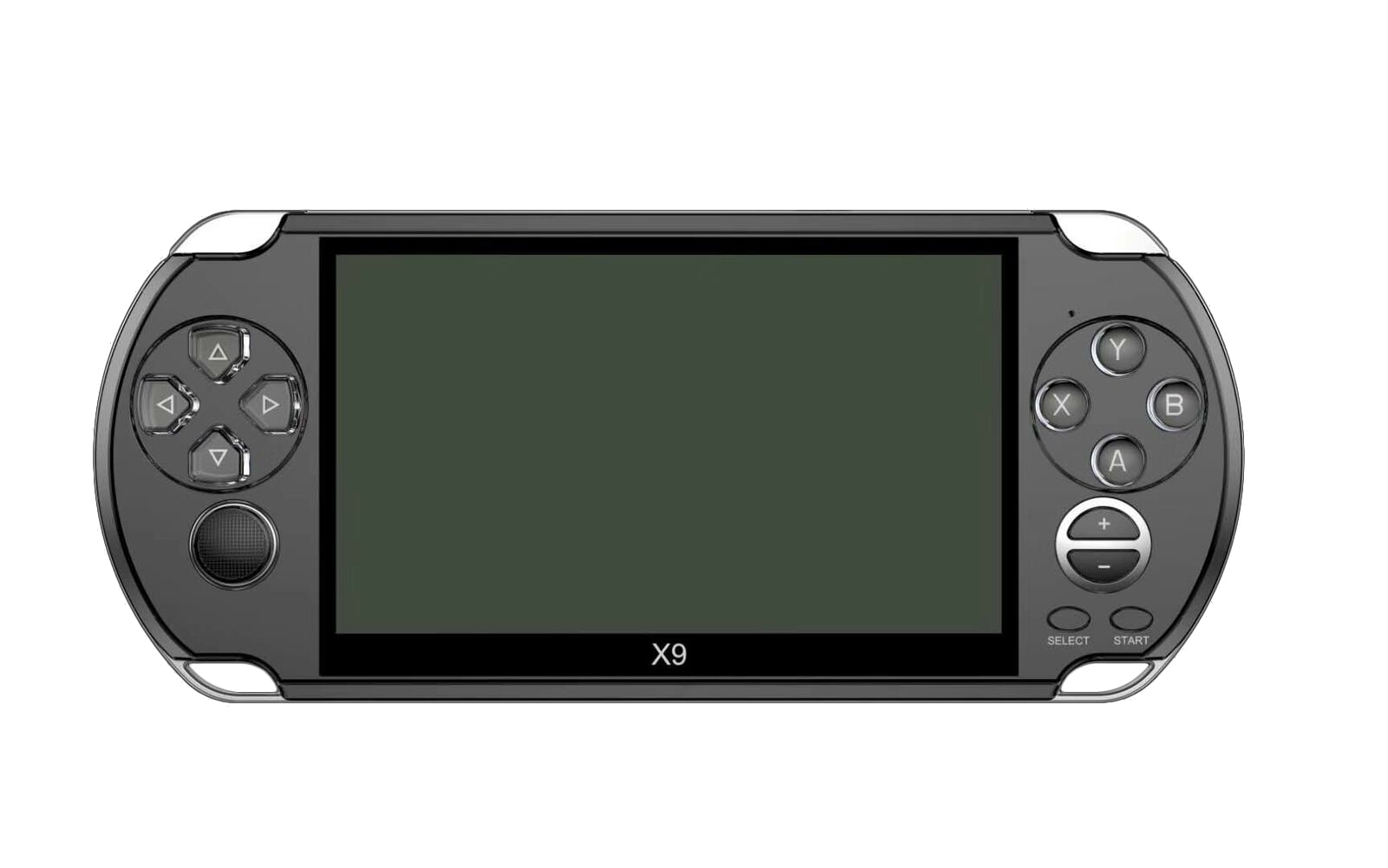 X9 5'' Handheld Video Game Console Retro Player Portable 32/64 Bit Games+ Cable PC White - 9