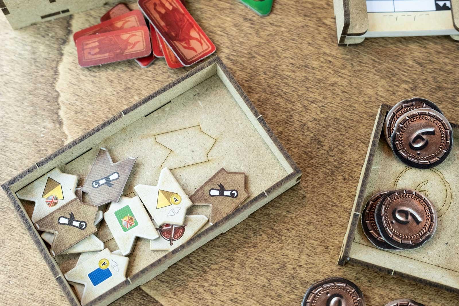 7 Wonders – Duel (Base Game Or With Pantheon; Agora Exp) Organizer Insert - 11