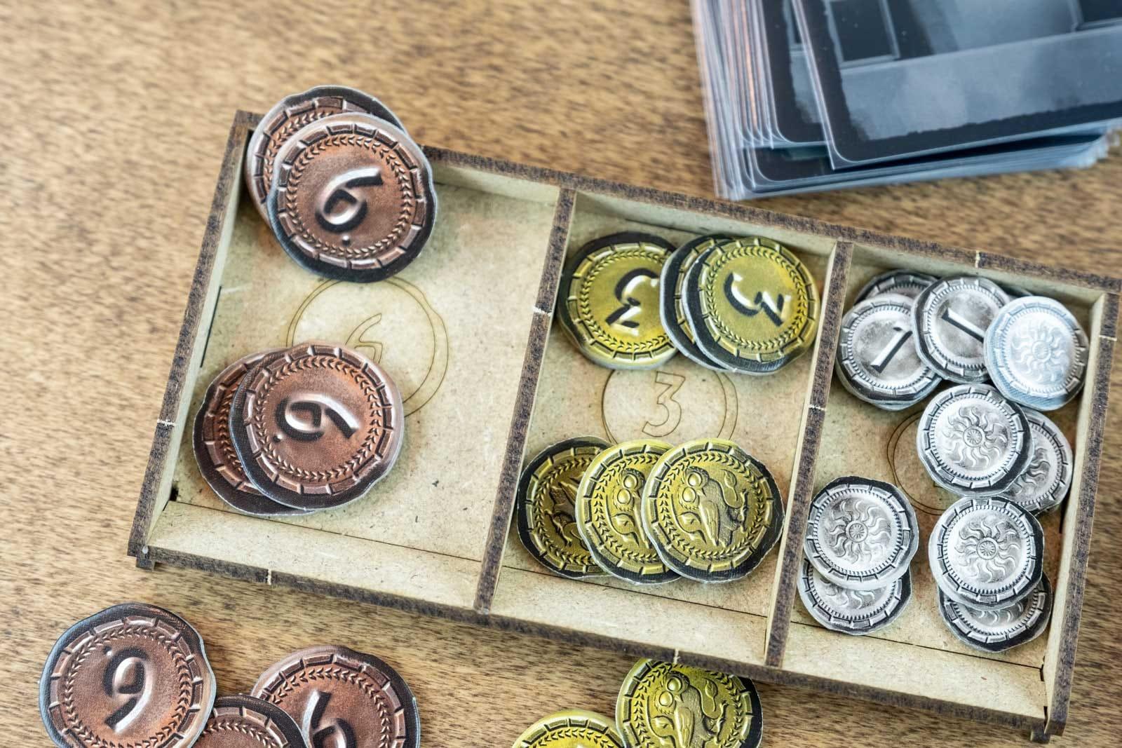 7 Wonders – Duel (Base Game Or With Pantheon; Agora Exp) Organizer Insert - 9