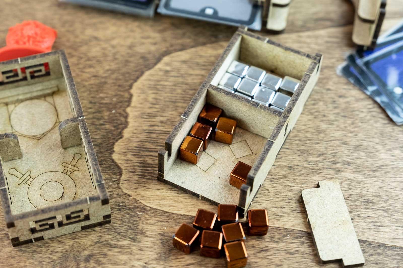 7 Wonders – Duel (Base Game Or With Pantheon; Agora Exp) Organizer Insert - 8