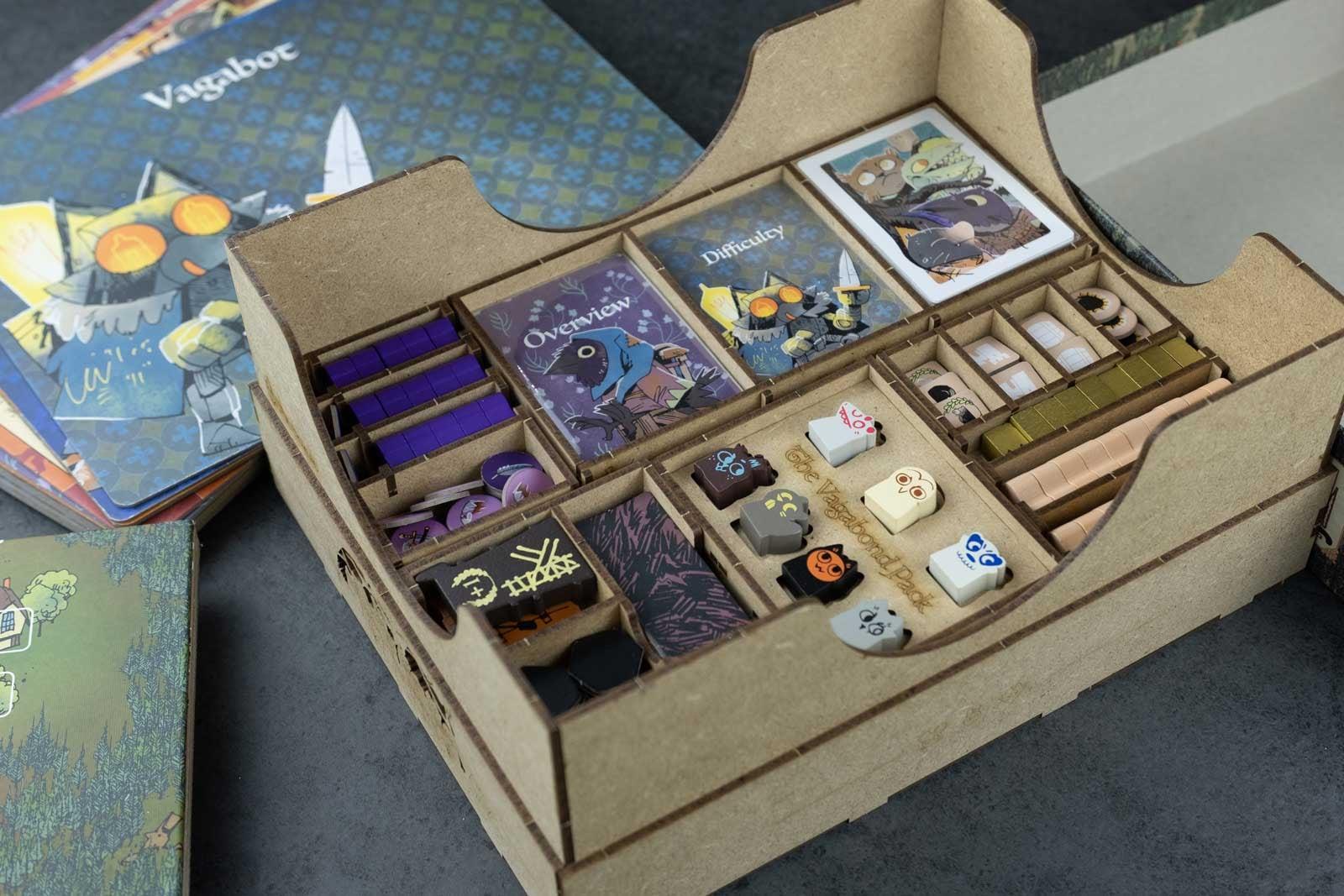 Root All In (base game plus Riverfolk; Underworld; Clockwork; The Exiles and Partisans; Vagabond Pack) Organizer Insert - 11