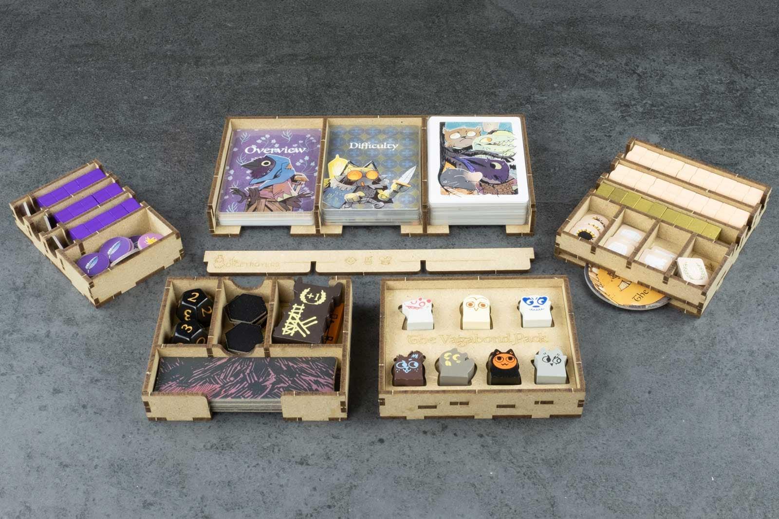 Root All In (base game plus Riverfolk; Underworld; Clockwork; The Exiles and Partisans; Vagabond Pack) Organizer Insert - 5