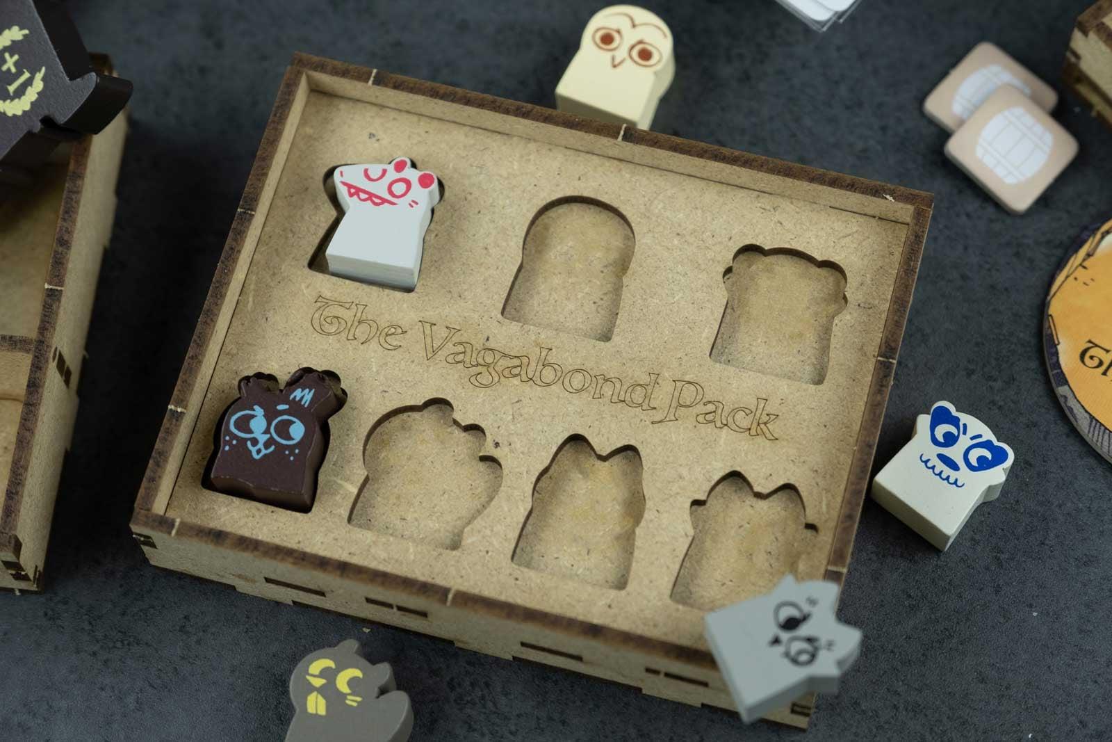 Root All In (base game plus Riverfolk; Underworld; Clockwork; The Exiles and Partisans; Vagabond Pack) Organizer Insert - 6