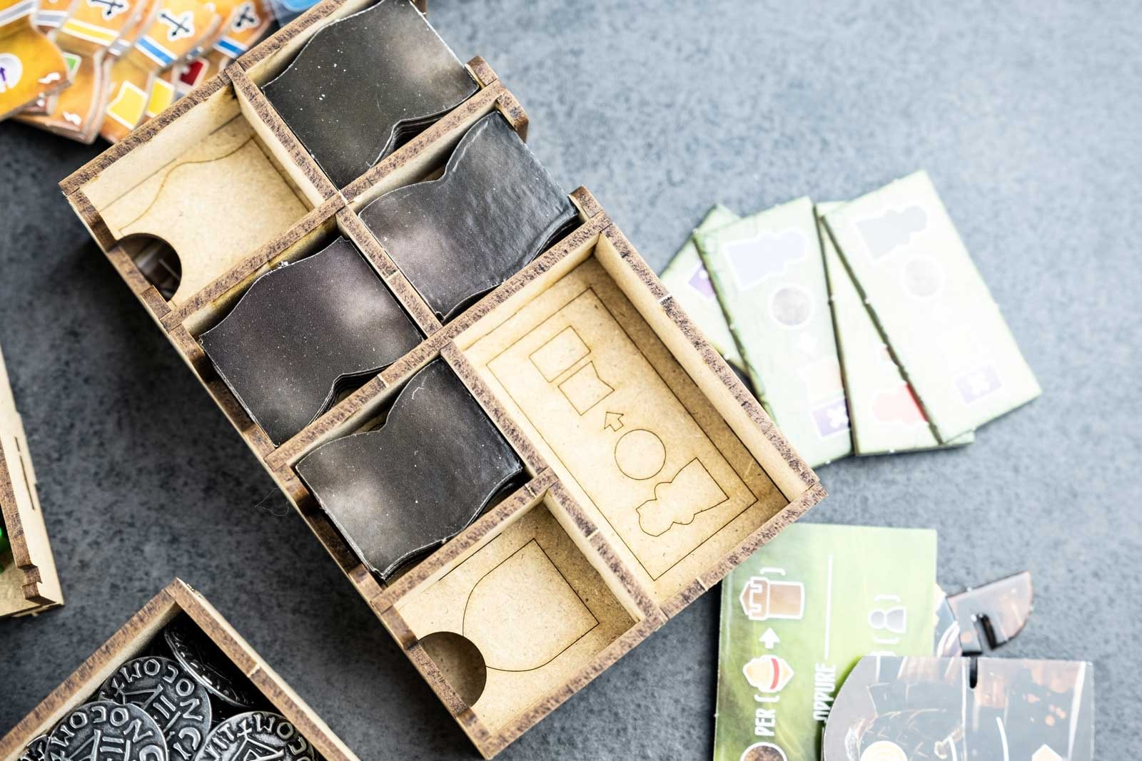 Viscounts Of The West Kingdom (Base Game Or With The West Kingdom Tomesaga Exp) Organizer Insert+Lifted Base - 12