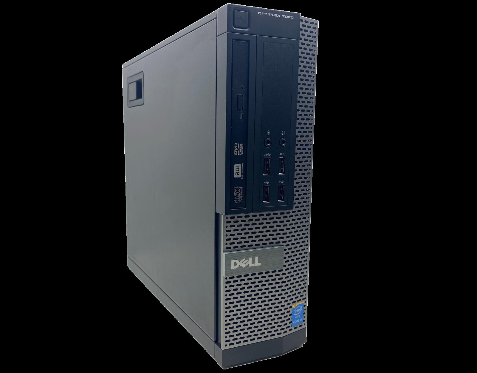 Komputer stacjonarny Dell Optiplex 7020 SFF i5 - 4590 / 8GB / 240 GB SSD / GTX 1050 Ti / DVD / Klasa A + Windows 10 Home - 3