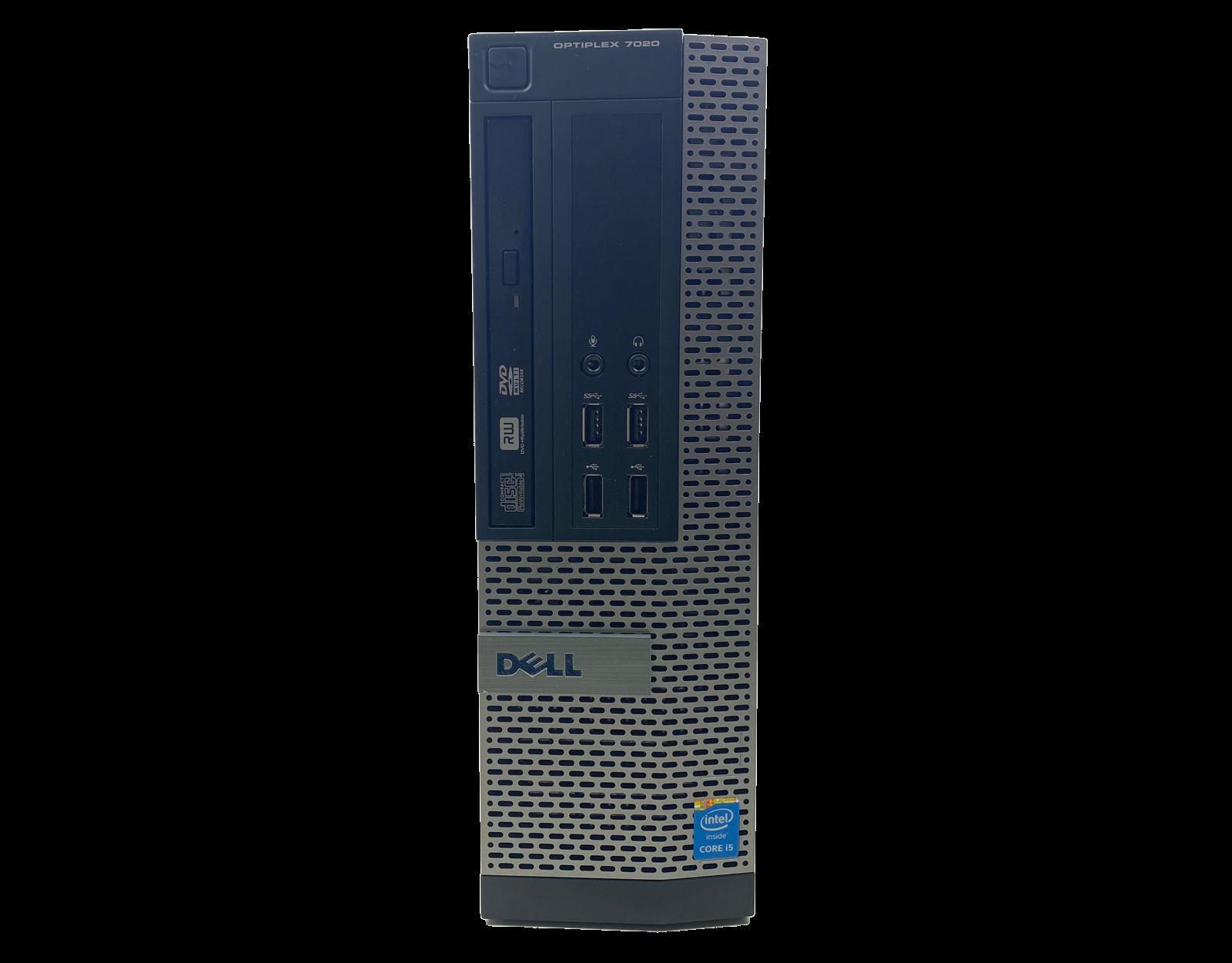 Komputer stacjonarny Dell Optiplex 7020 SFF i5 - 4590 / 8GB / 240 GB SSD / GTX 1050 Ti / DVD / Klasa A + Windows 10 Home - 2