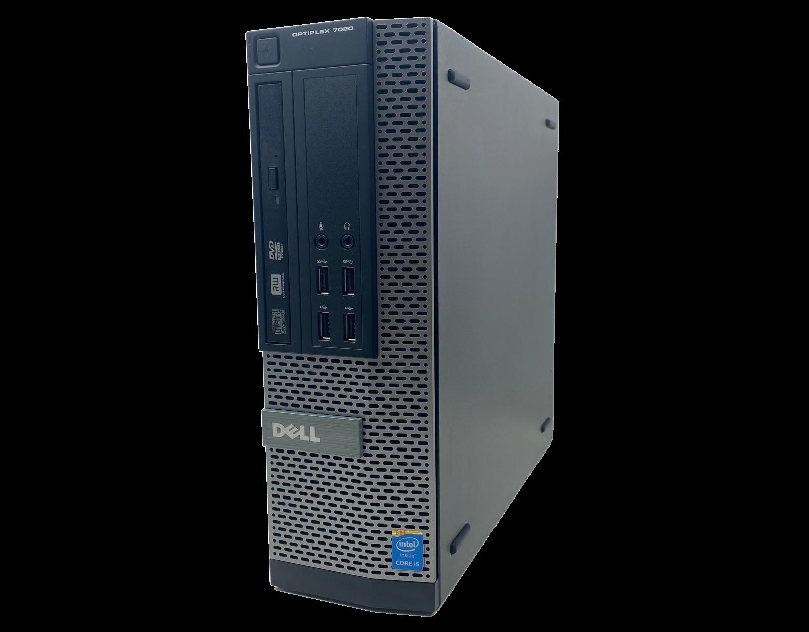 Komputer stacjonarny Dell Optiplex 7020 SFF i5 - 4590 / 8GB / 240 GB SSD / GTX 1050 Ti / DVD / Klasa A + Windows 10 Home - 4