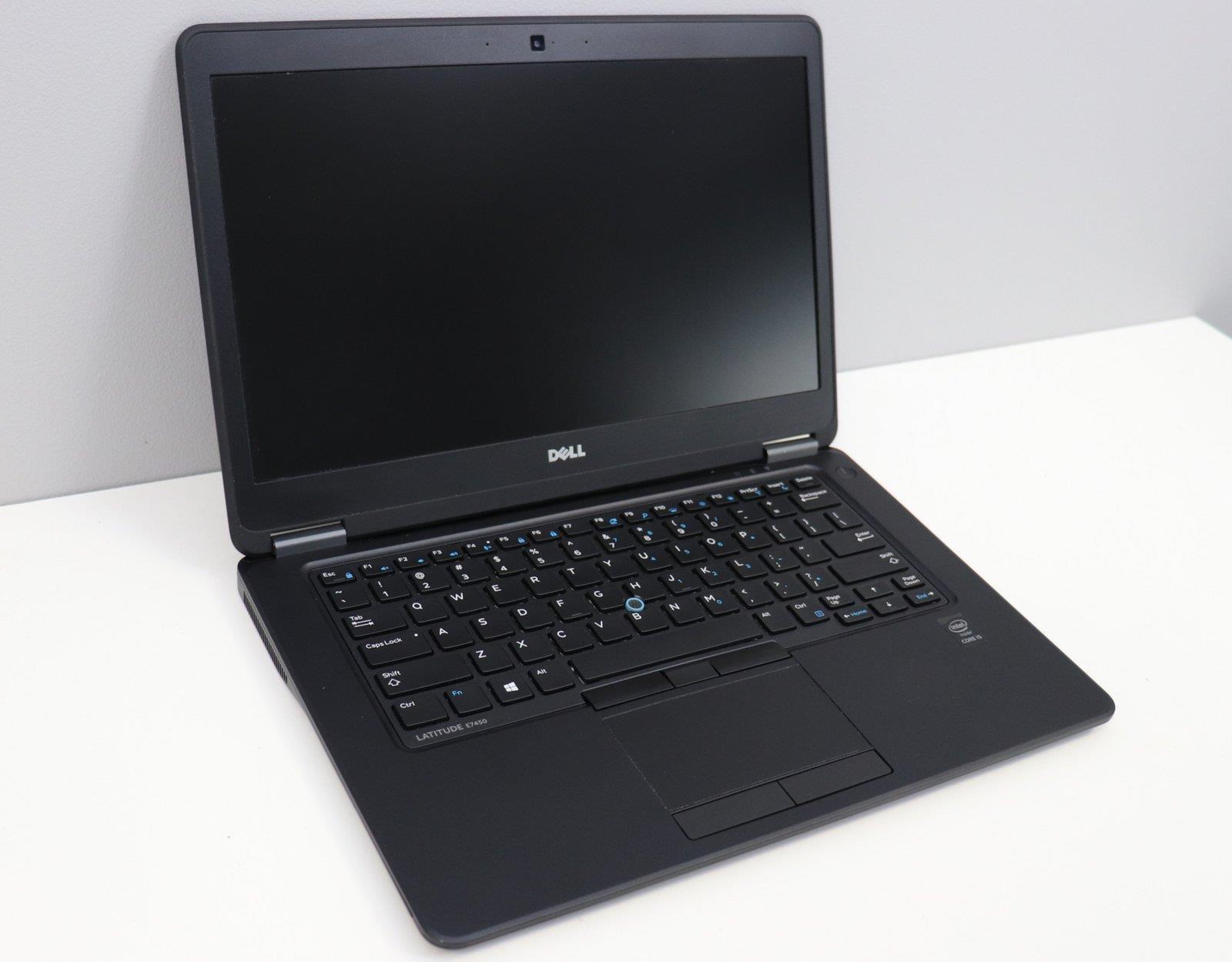 Laptop Dell Latitude E7450 i5 - 5 generacji / 8 GB / 250 GB HDD / 14 HD / Klasa A- - 2