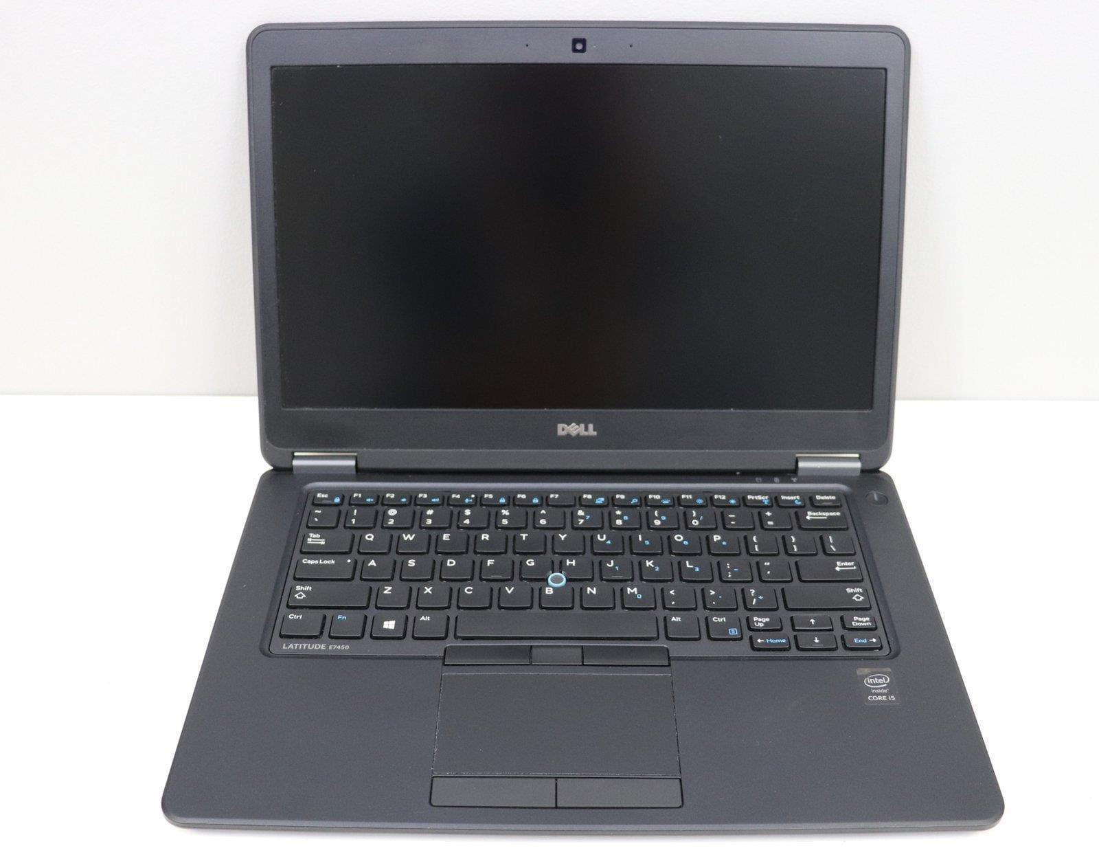 Laptop Dell Latitude E7450 i5 - 5 generacji / 8 GB / 250 GB HDD / 14 HD / Klasa A- - 1
