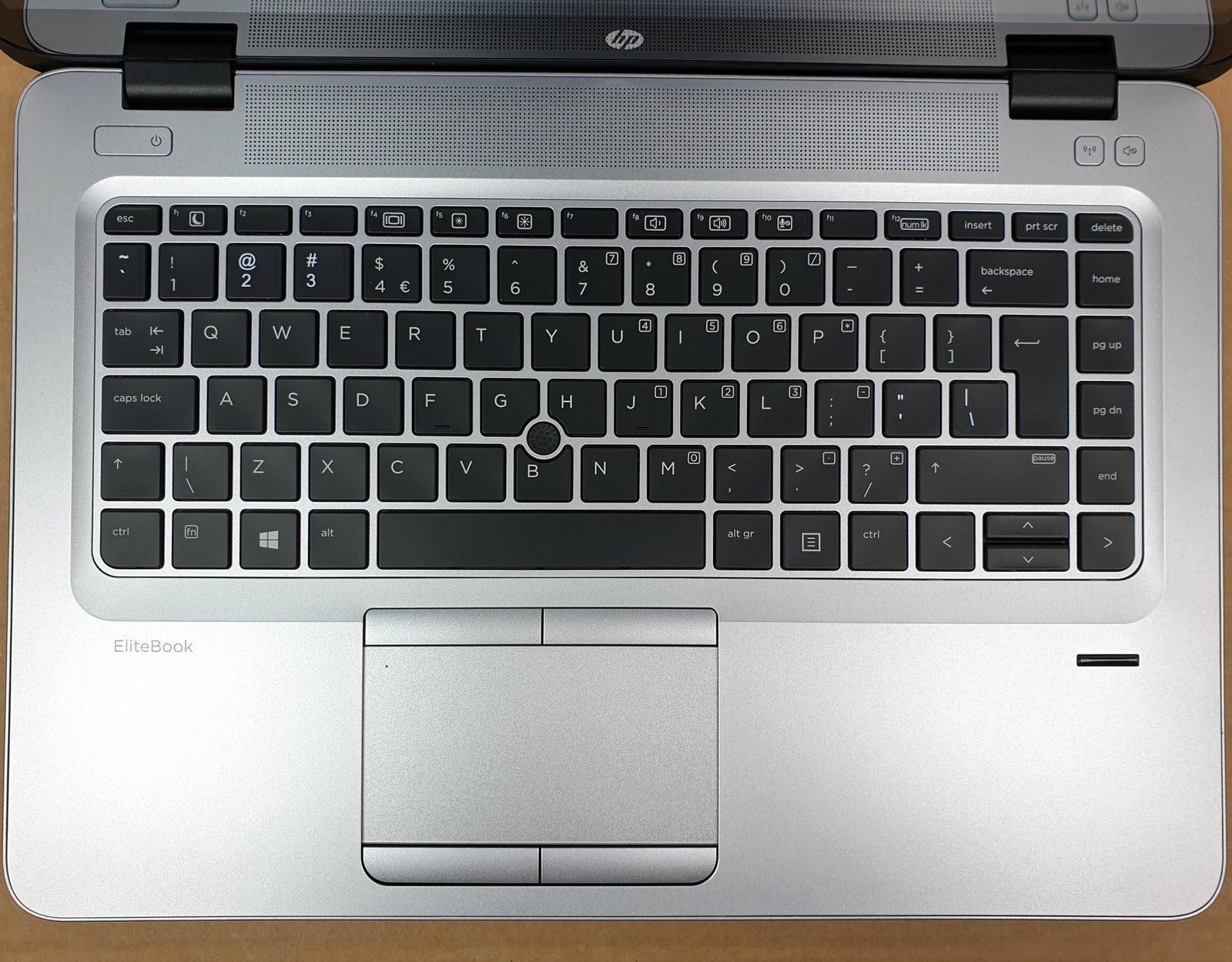 Laptop HP EliteBook 840 G3 i7 - 6 generacji / 16 GB / 240 GB SSD / 14 FullHD DOTYK / Klasa A- - 5