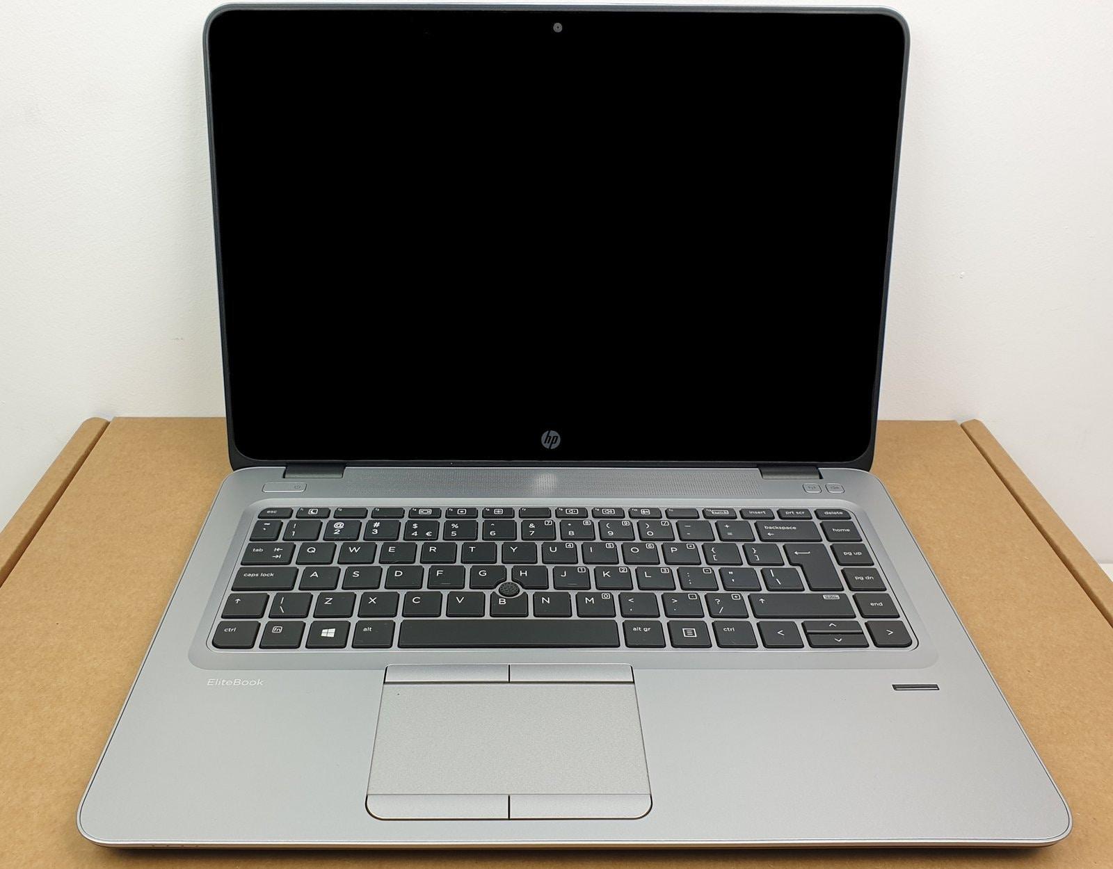 Laptop HP EliteBook 840 G3 i7 - 6 generacji / 8 GB / 250 GB HDD / 14 FullHD DOTYK / Klasa A- - 2