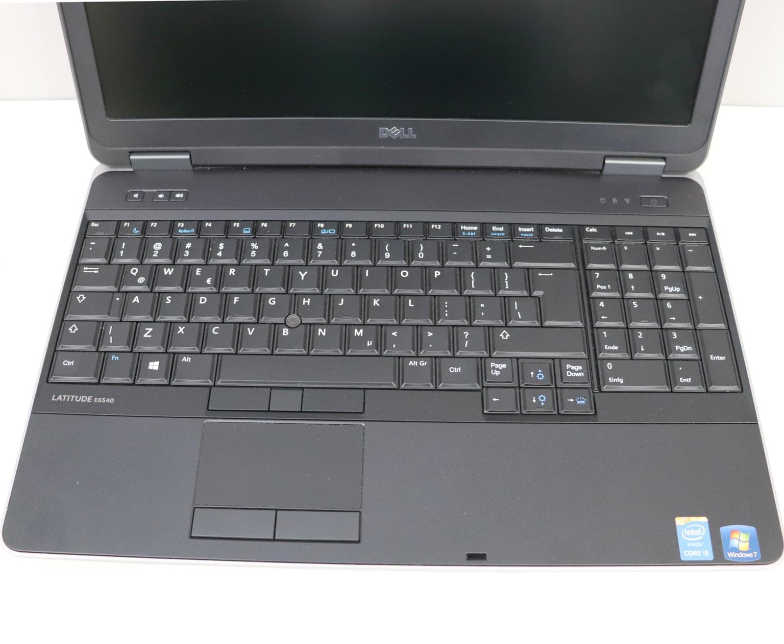 Laptop Dell Latitude E6540 i7 - 4 generacji / 16GB / 240 GB SSD / 15,6 HD / Klasa A- - 5