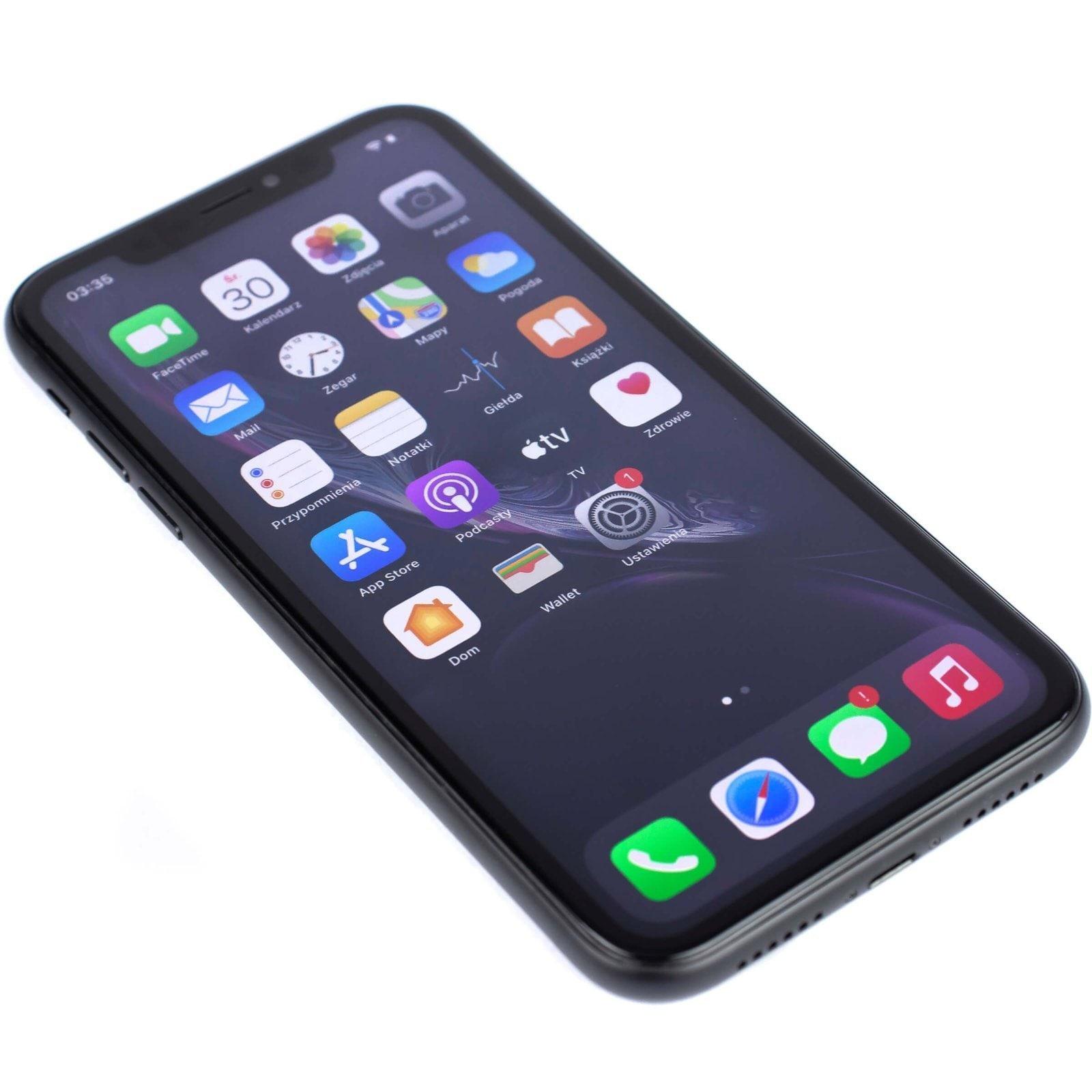 Apple iPhone XR Black 64GB Smartfon - Like New - 5
