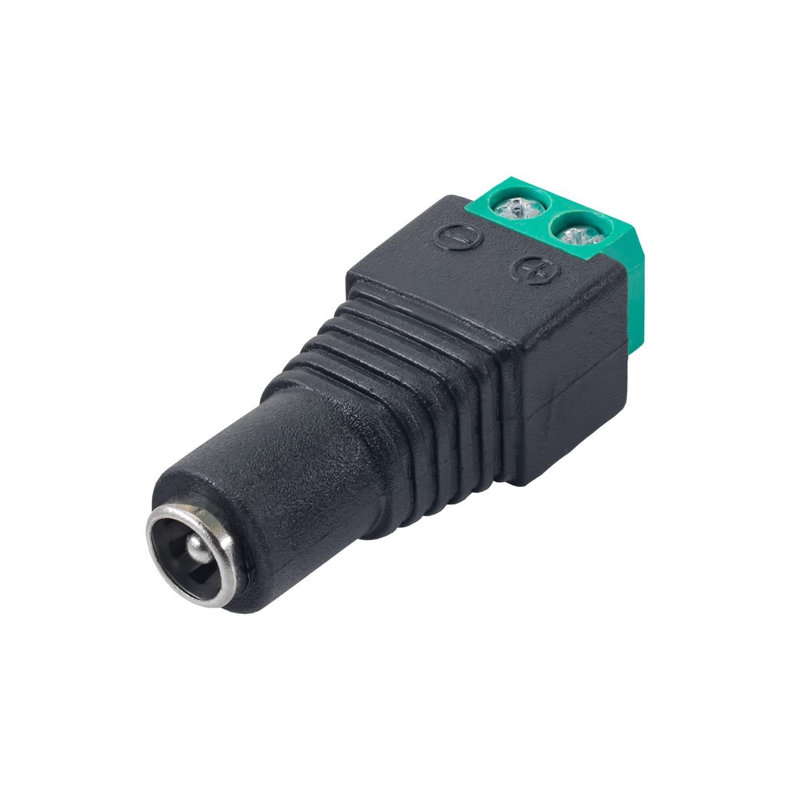 Konektor Skręcany Akyga Ak-Sc-17 5.5 X 2.1 Mm (F) Utp Cctv - 1