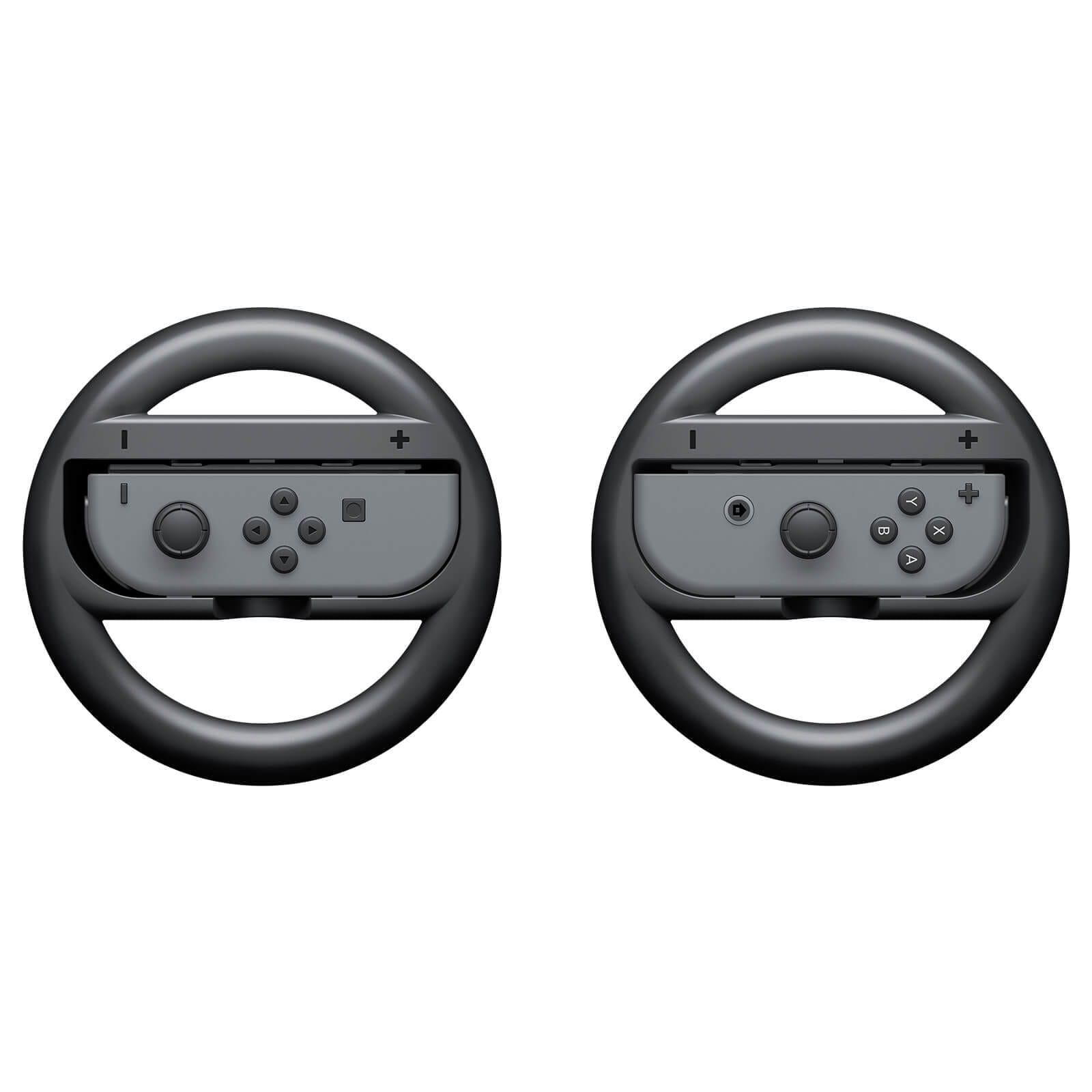 Nintendo Switch Joy-Con - Wheel Pair - Black - 2