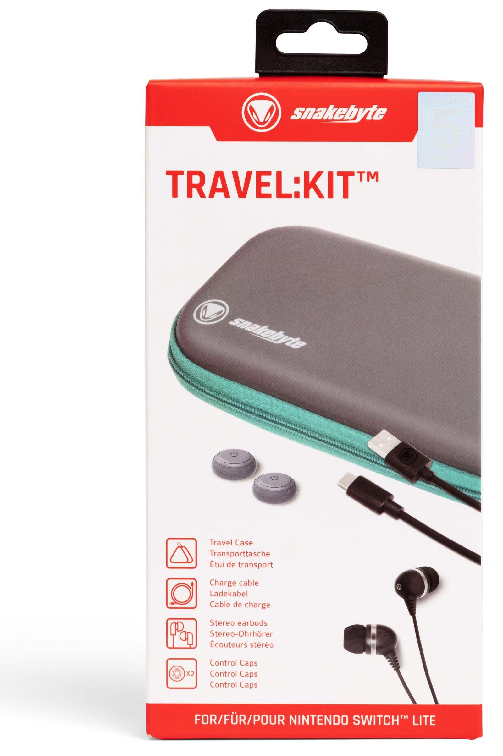 Snakebyte TRAVEL:KIT ™ Nintendo Switch Lite Turquoise - 3