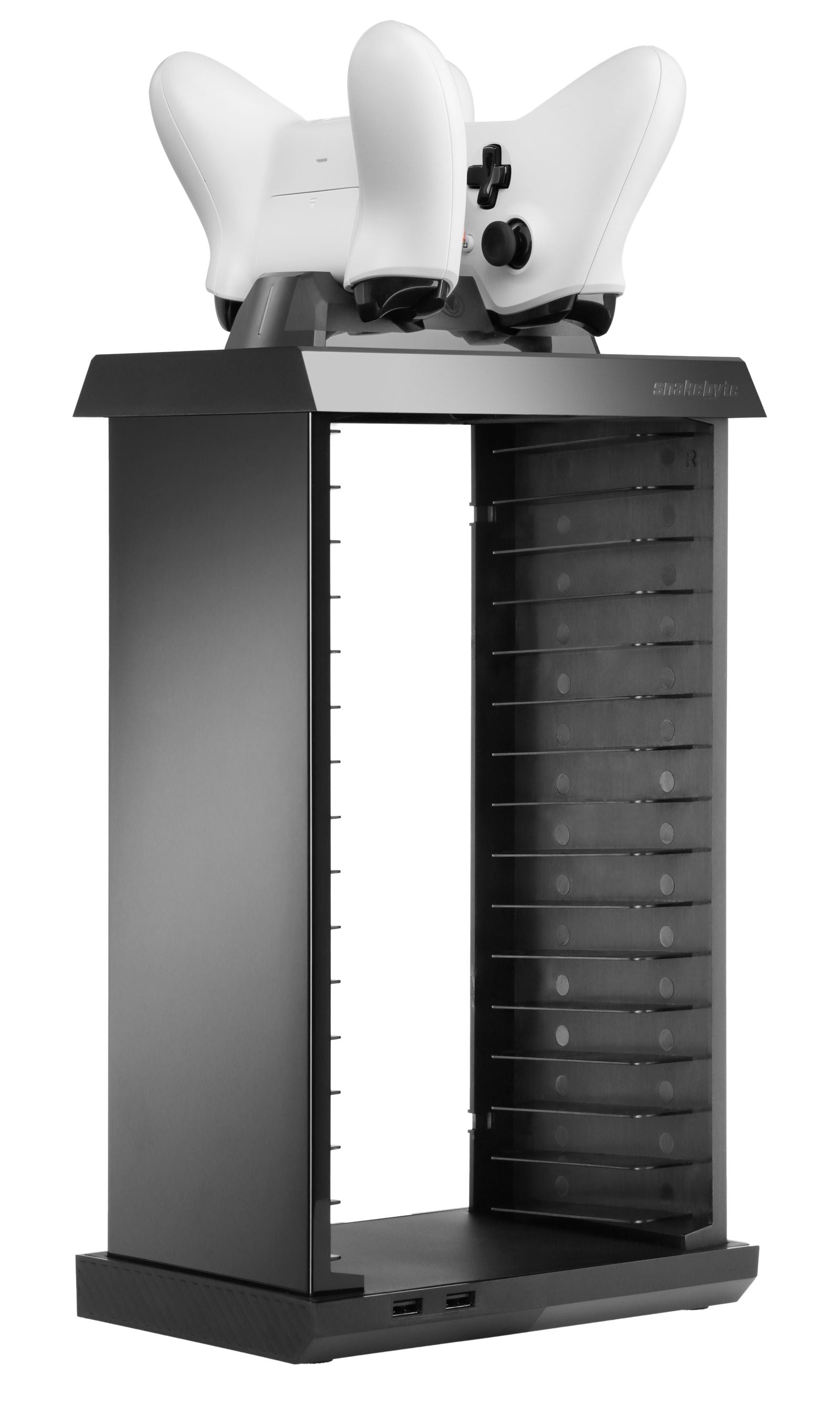 snakebyte ładowarka kontrolera Xbox One z akumulatorami CHARGE:TOWER PRO - 2
