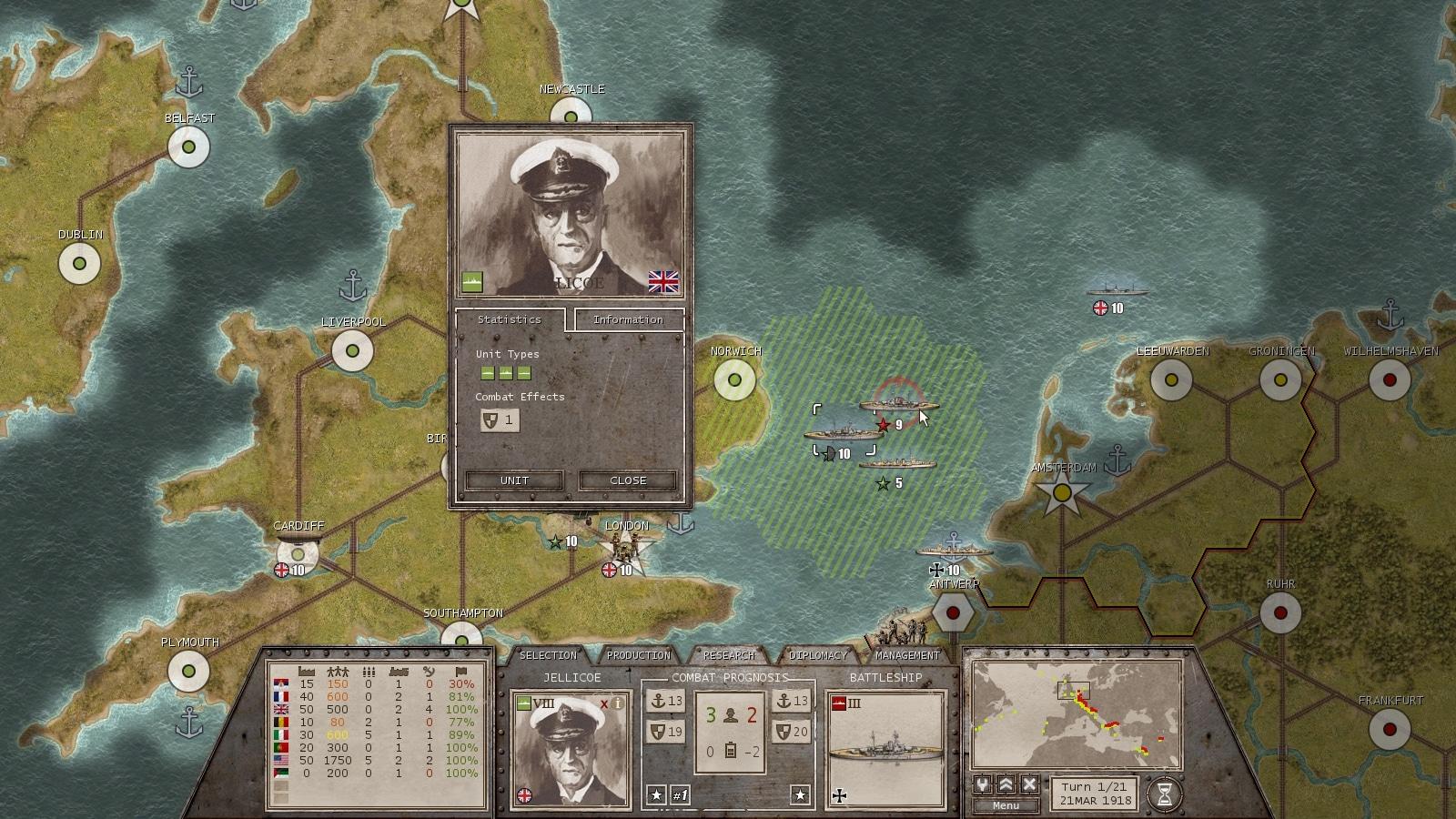 Commander: The Great War Steam Key GLOBAL - 4