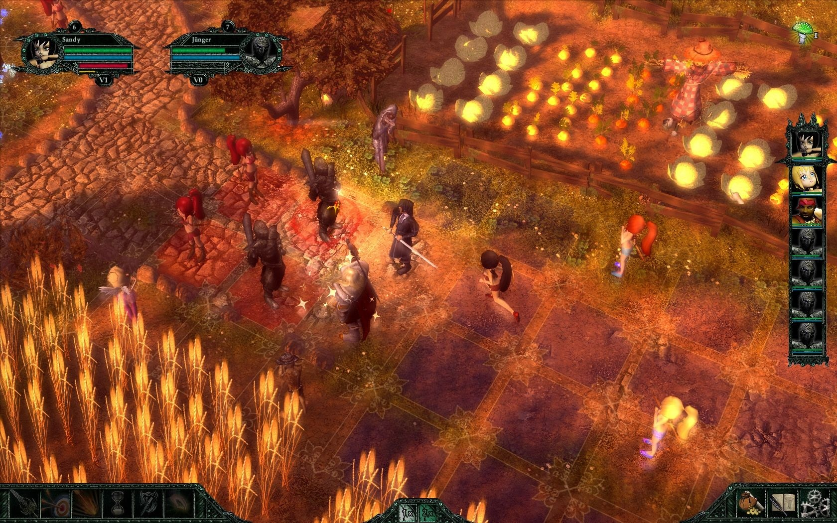 Grotesque Tactics: Evil Heroes Steam Key GLOBAL - 4
