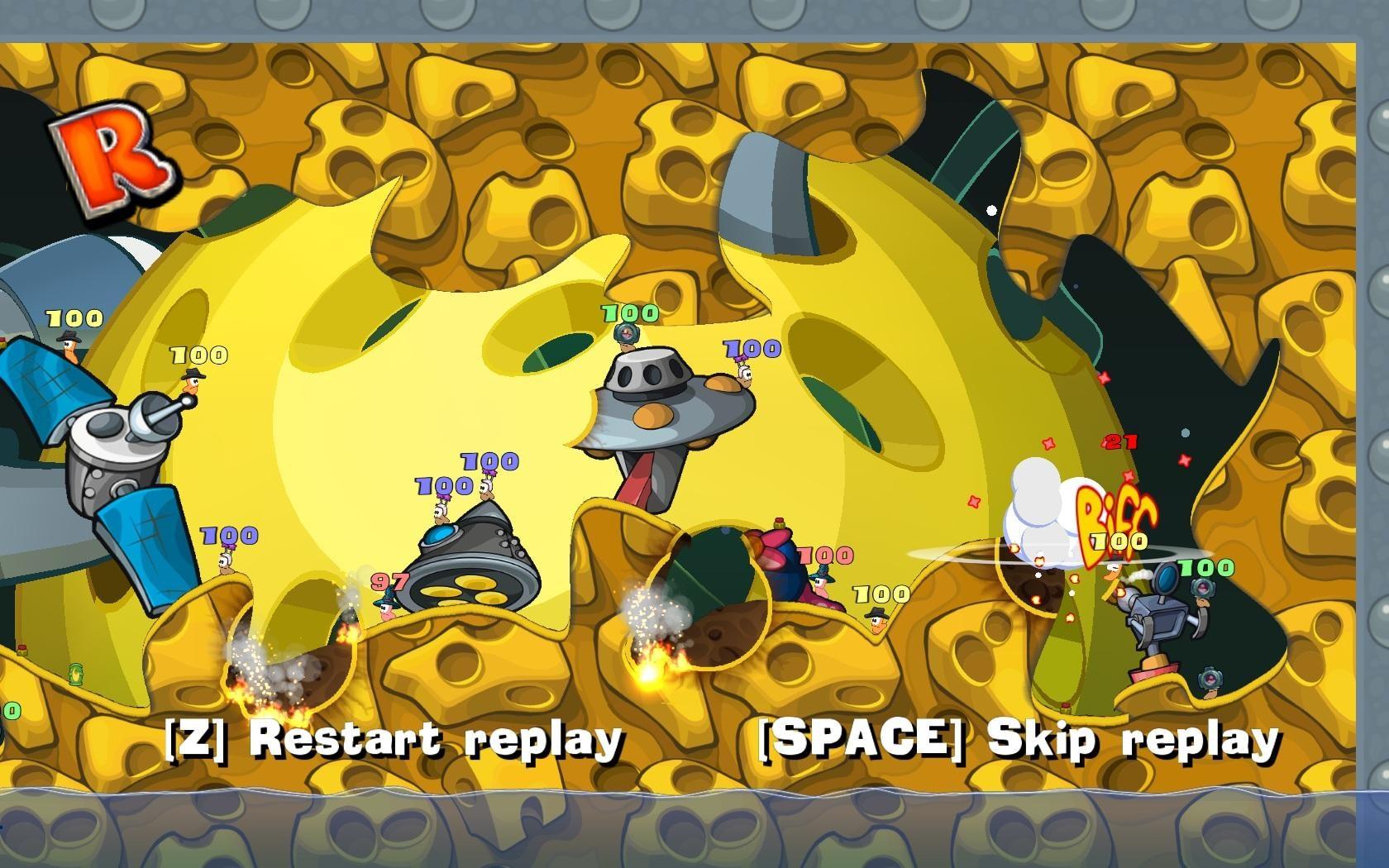 Worms Reloaded GOTY Steam Key GLOBAL - 4