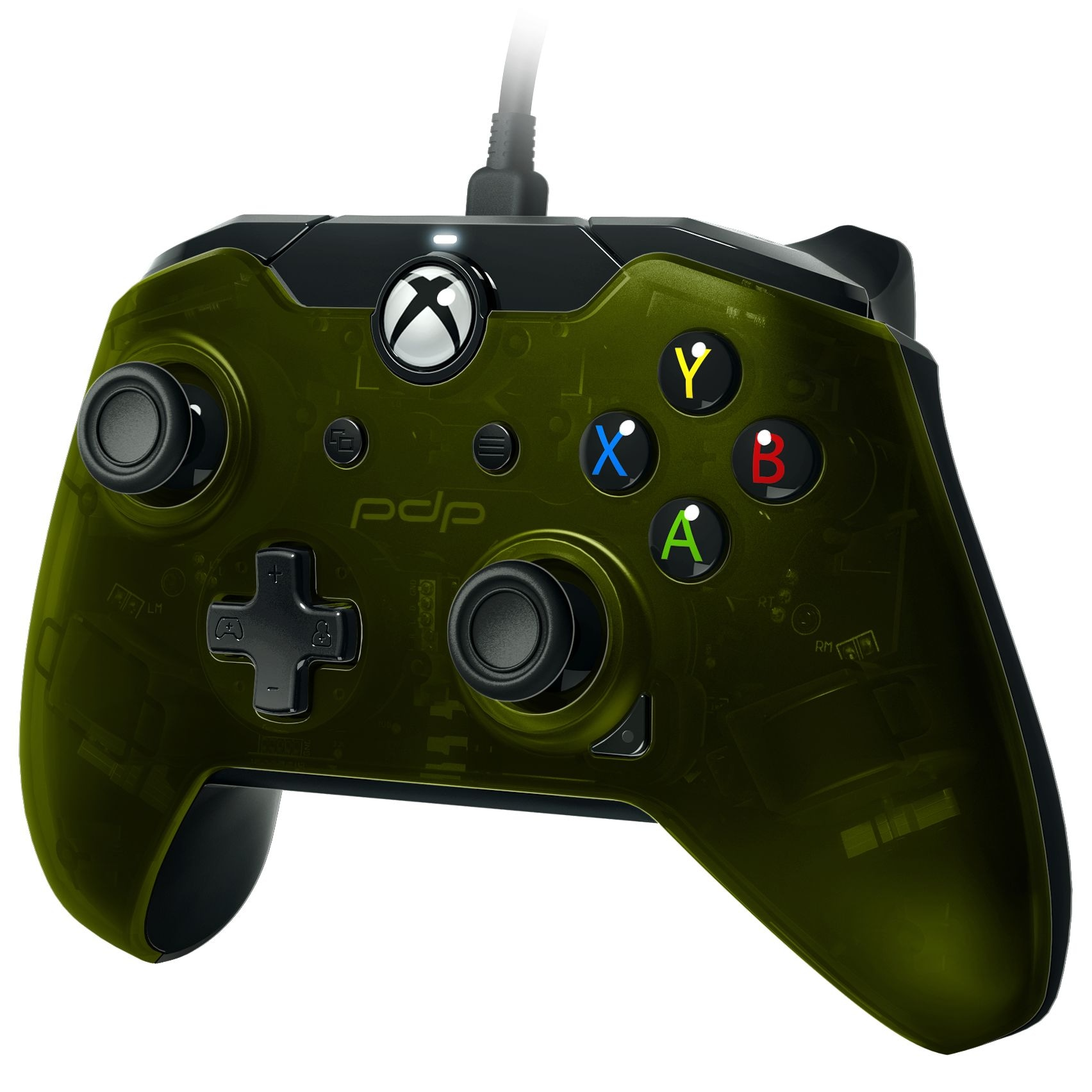 PDP Wired Controller (Green) (Xbox One / PC) Green - 1
