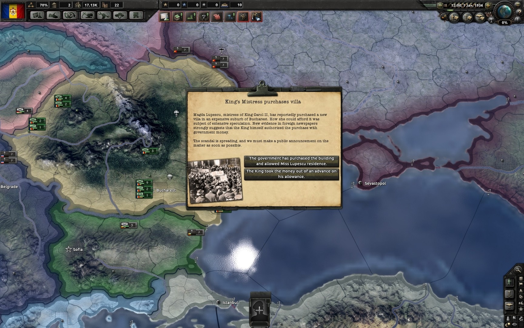 Hearts of Iron IV: Death or Dishonor Steam Key GLOBAL - 1