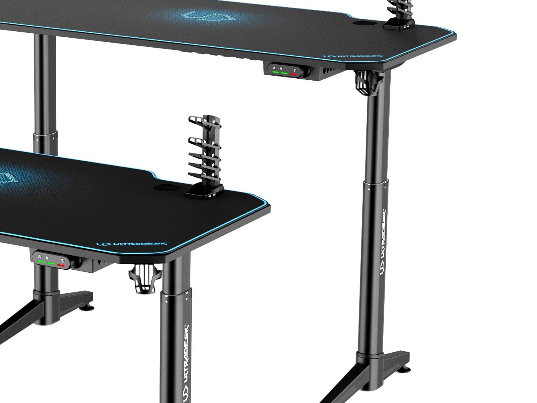 ULTRADESK LEVEL BLUE- electric gaming desk - 11