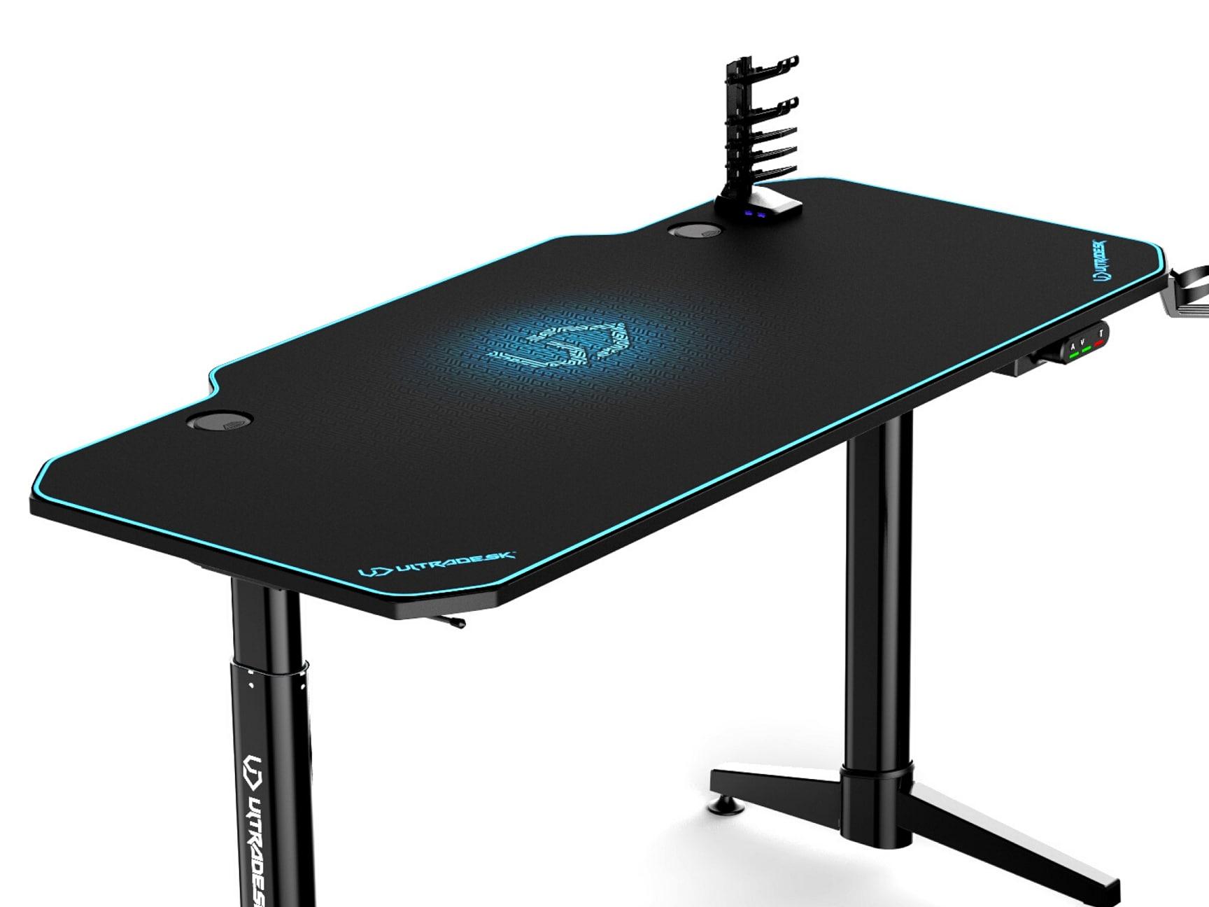 ULTRADESK LEVEL BLUE- electric gaming desk - 2