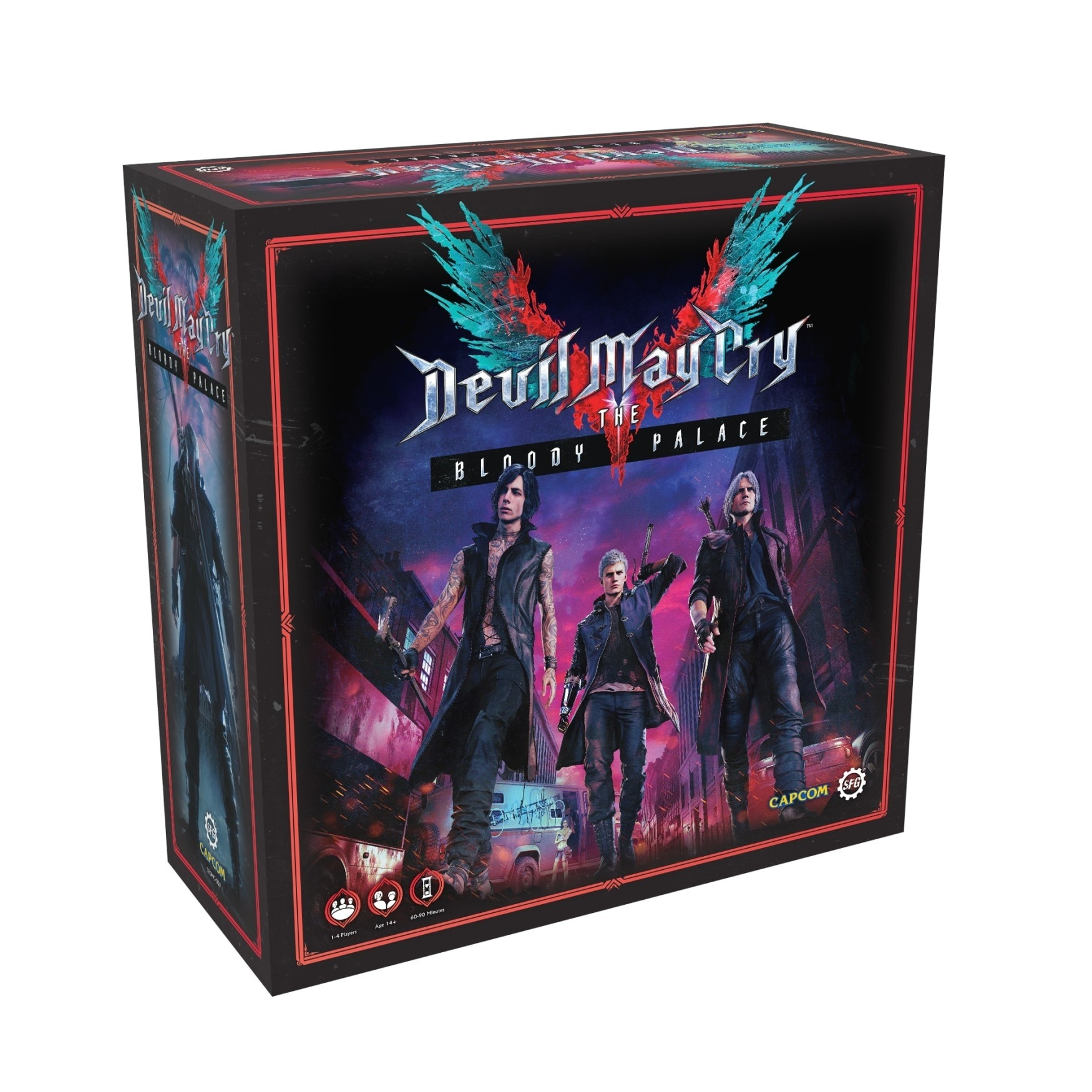 Devil May Cry: The Bloody Palace Board Game - 1