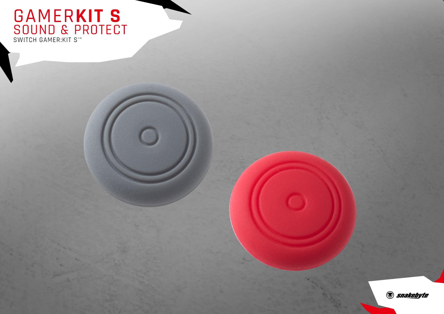 snakebyte słuchawki z zestawem akcesoriów Nintendo Switch GAMER KIT S ™ SOUND & PROTECT - 5