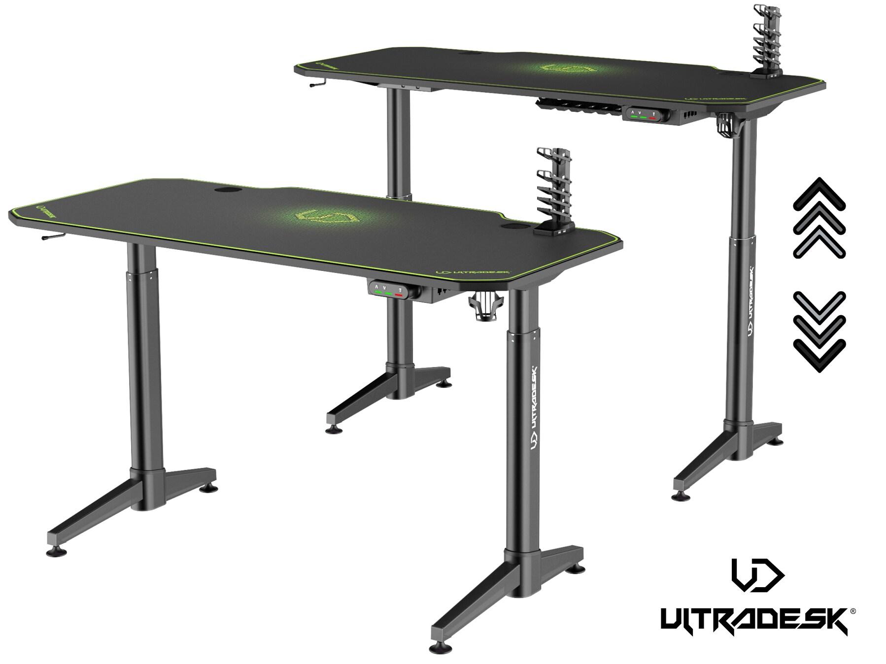 ULTRADESK LEVEL GREEN - electric gaming desk - 1