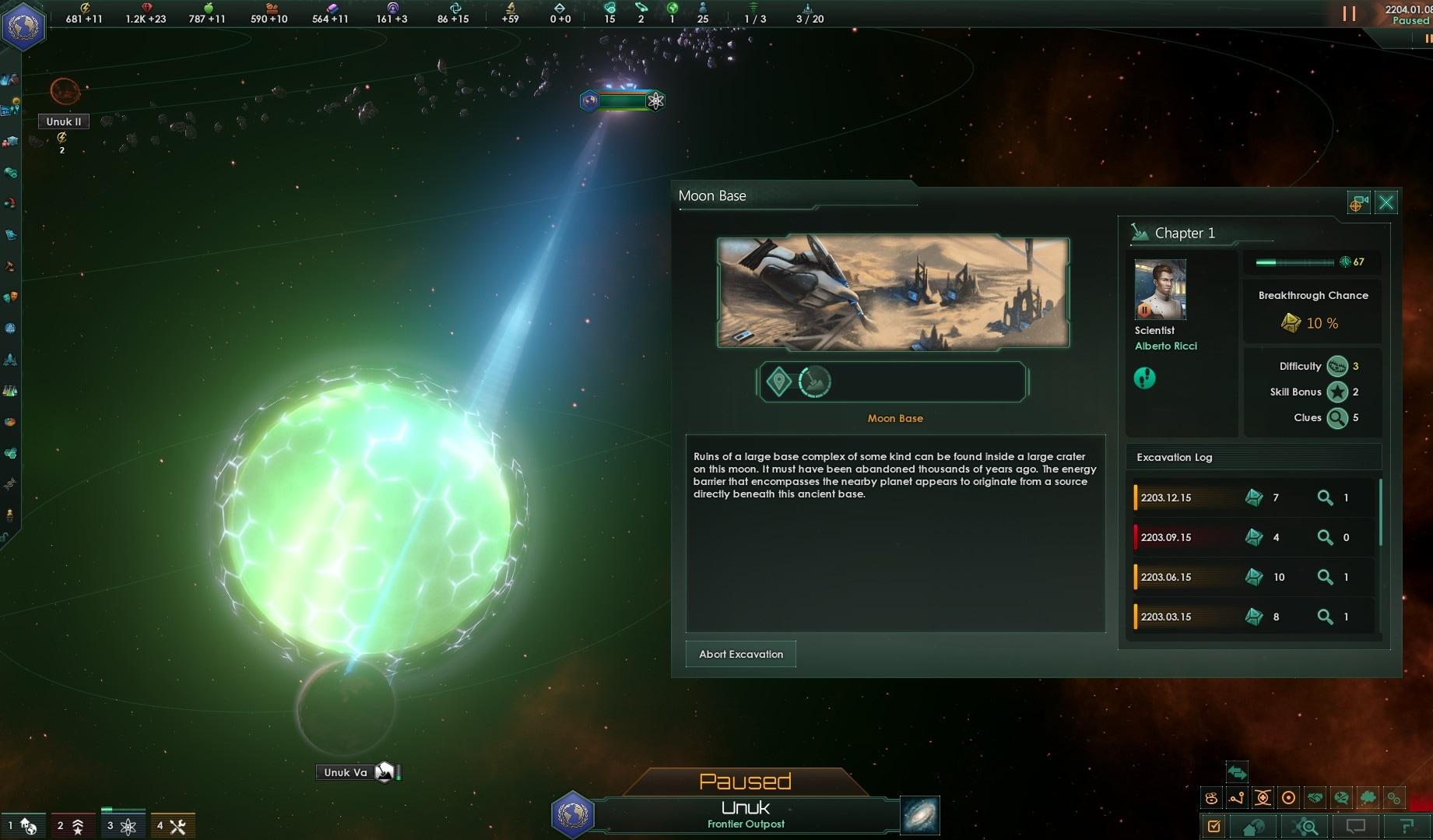 Stellaris: Ancient Relics Story Pack Steam Key GLOBAL - 4
