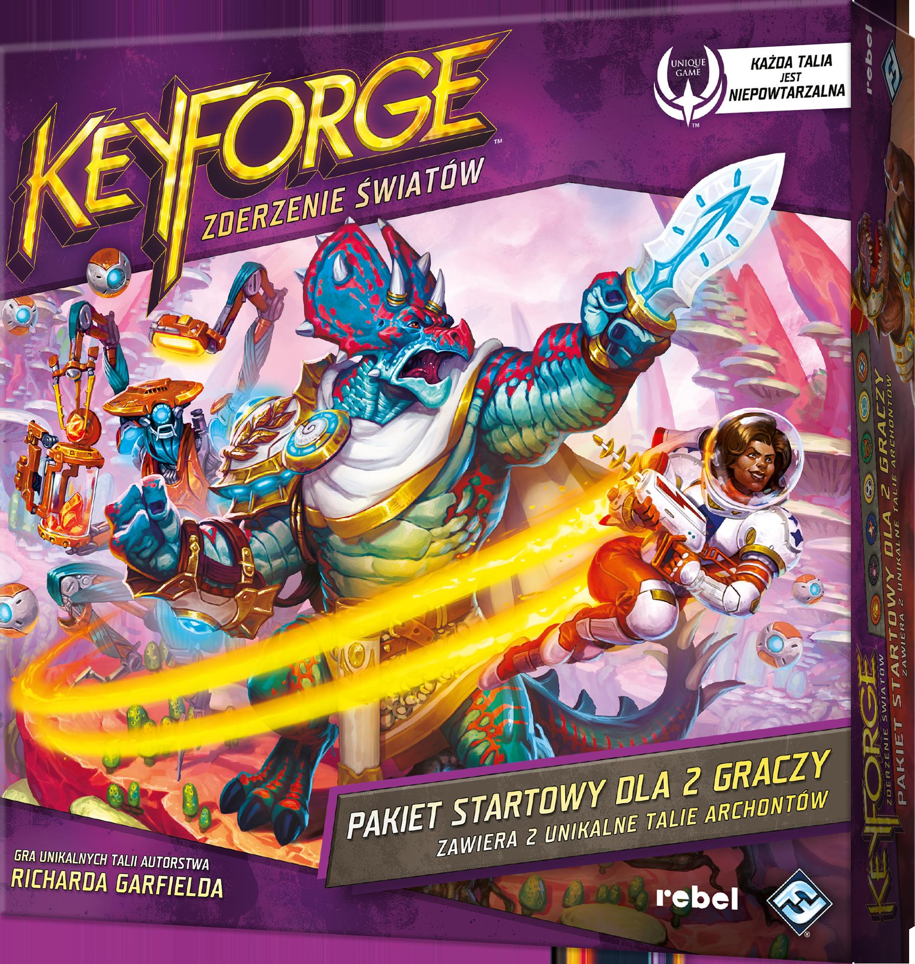 KeyForge: Zderzenie Światów - Pakiet startowy - 1