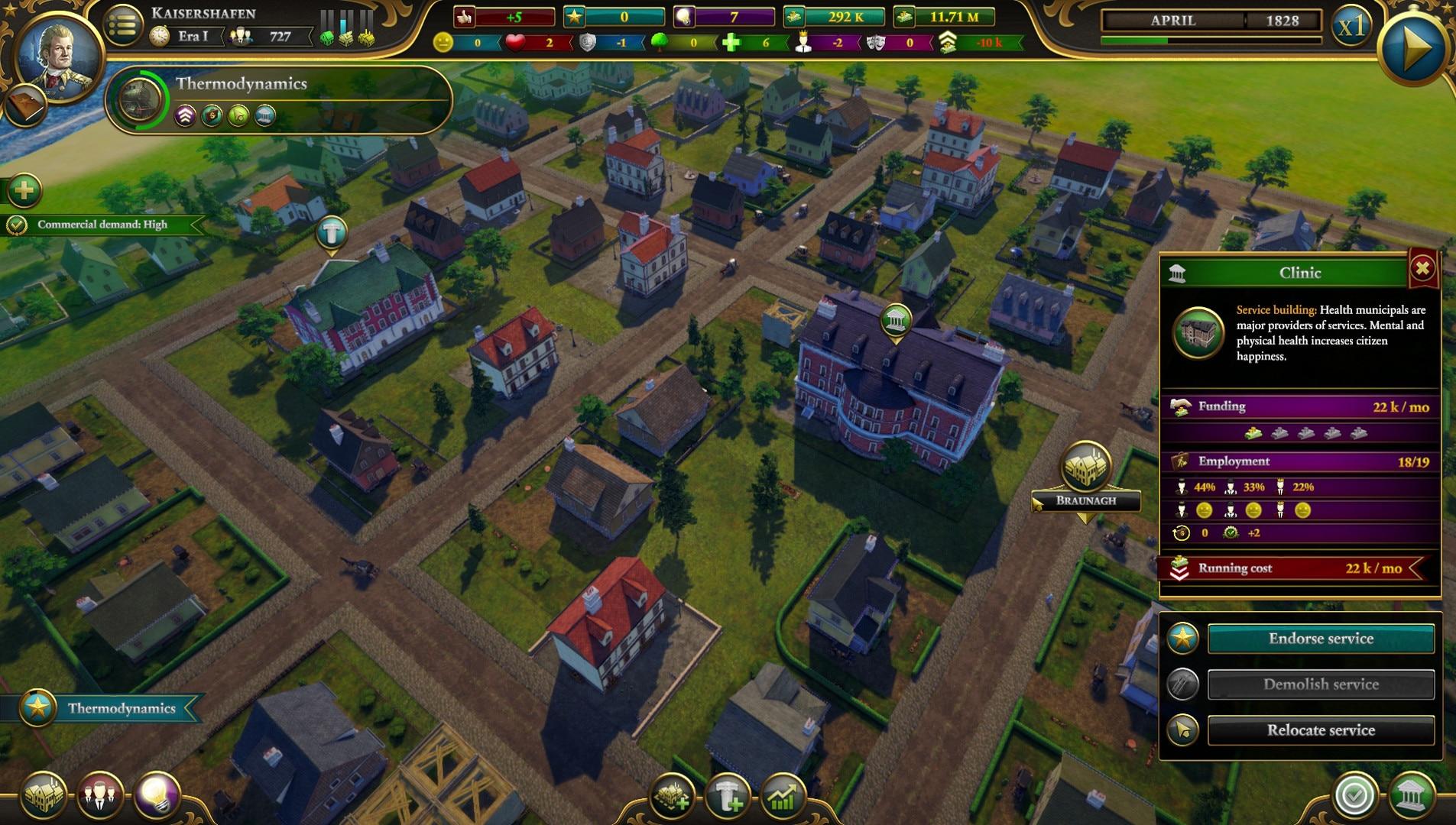 Urban Empire Steam Key GLOBAL - 4