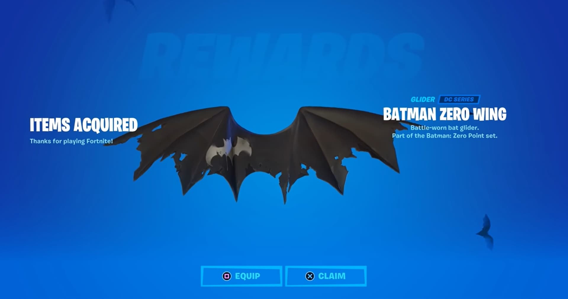 Fortnite - Batman Zero Wing Glider (PC) - Epic Games Key - EUROPE - 1