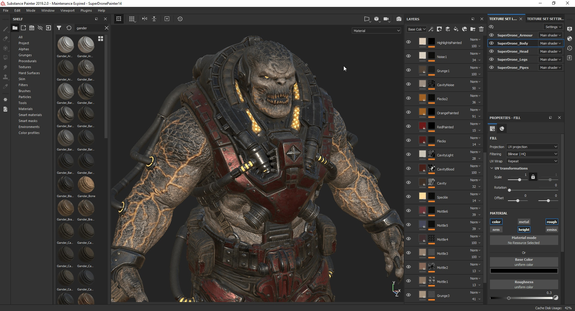 Substance Painter 2021 (PC) - Steam Gift - EUROPE - 2