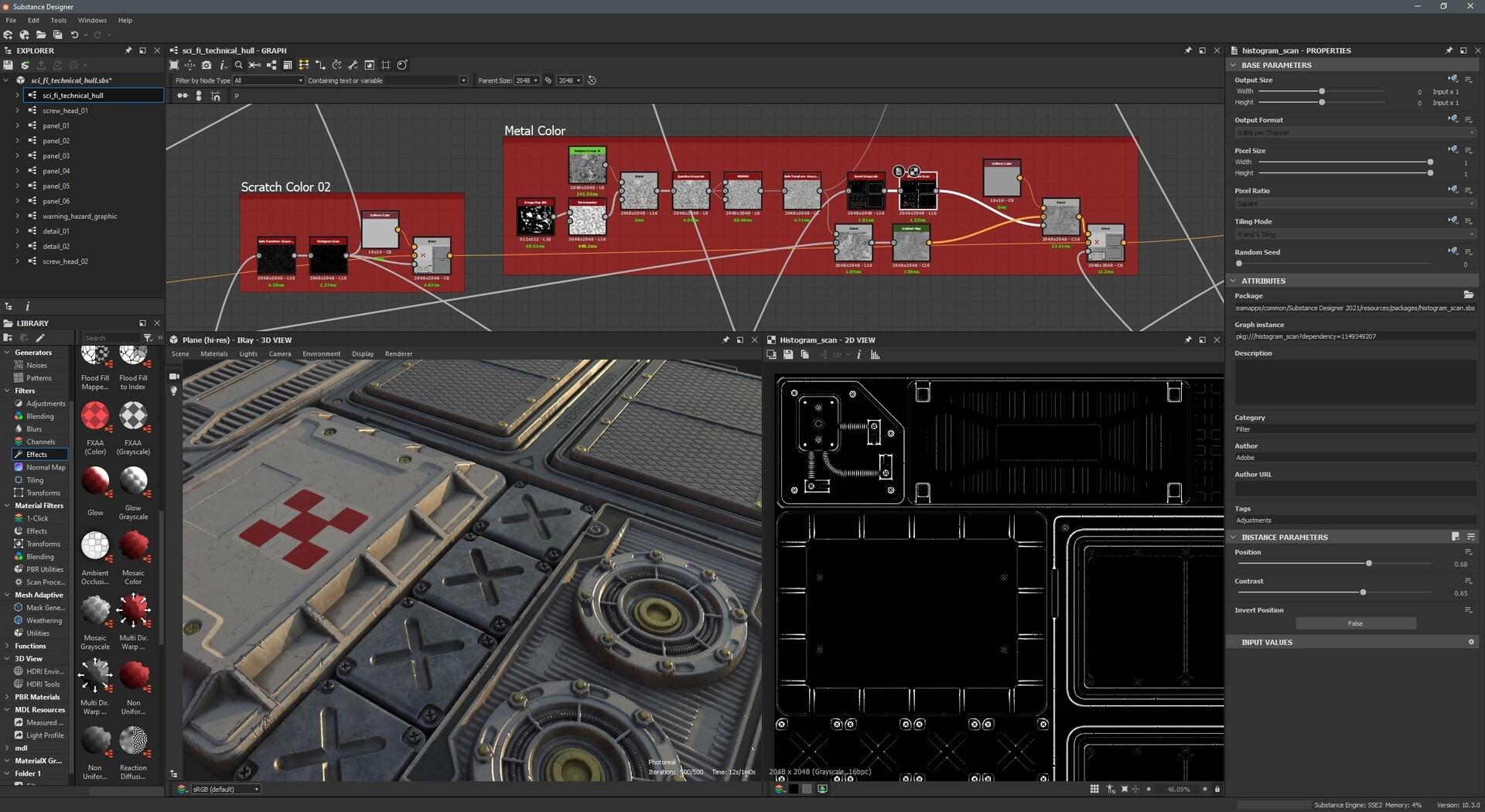 Substance Designer 2021 (PC) - Steam Gift - EUROPE - 2