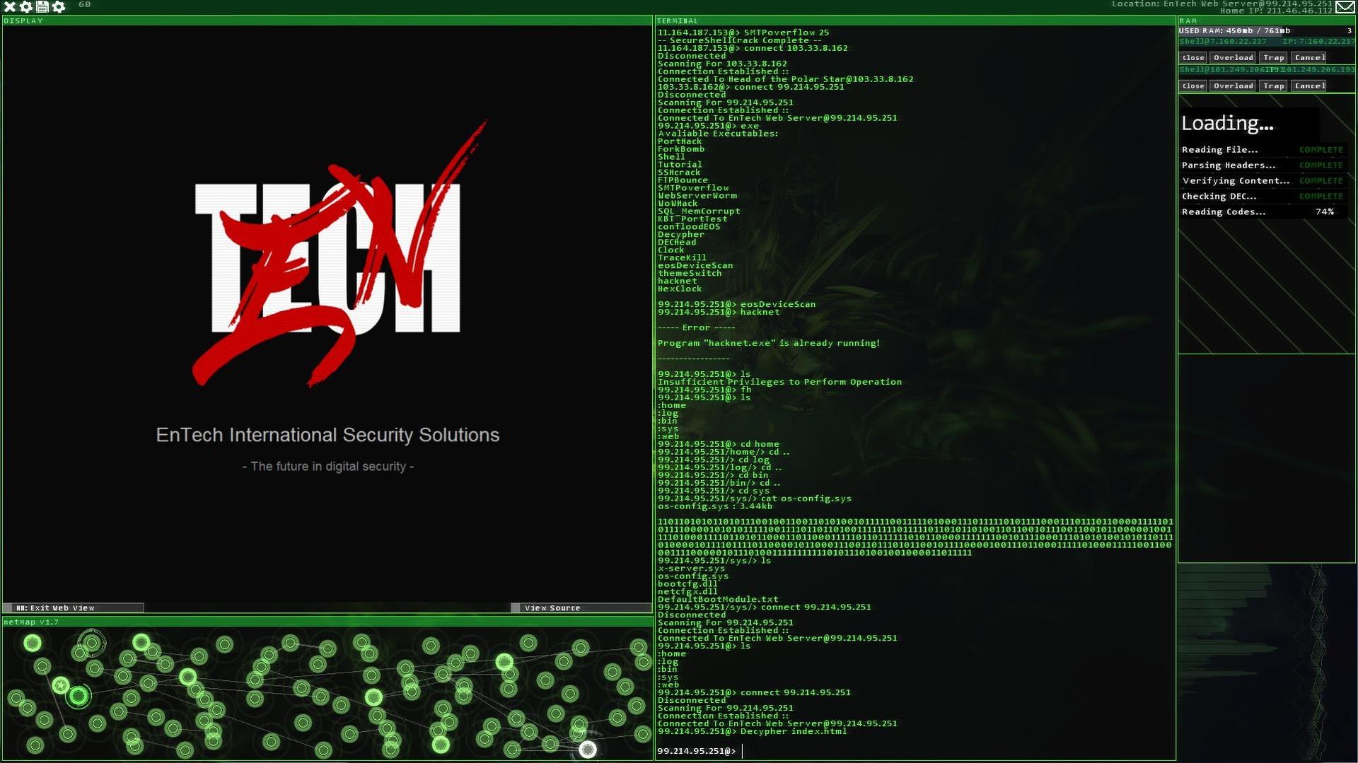 Hacknet Steam Key GLOBAL - 3