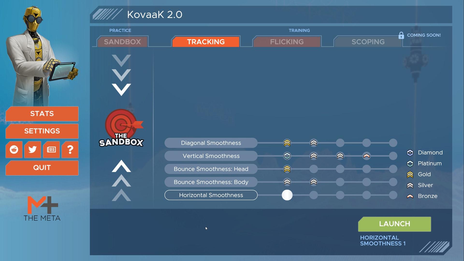 KovaaK 2.0 - Tracking Trainer (PC) - Steam Gift - GLOBAL - 1